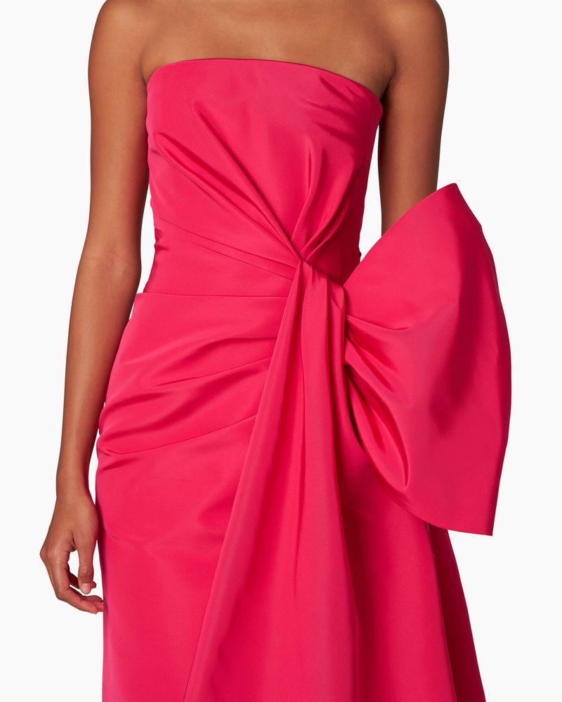 Strapless Gown With Side Drape 2