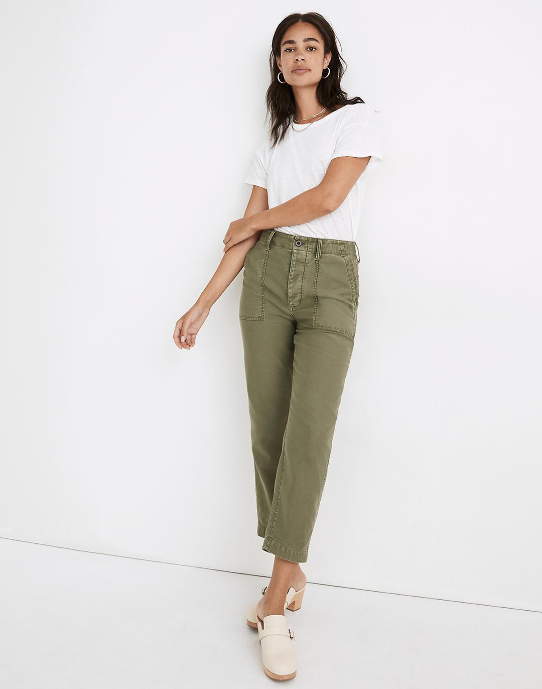 Curvy Griff Tapered Fatigue Pants