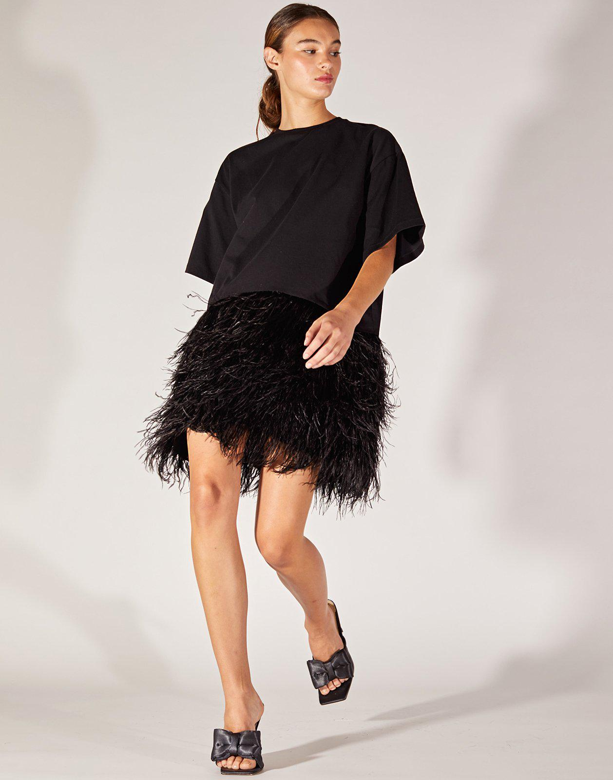 Astrid Feather Dress
