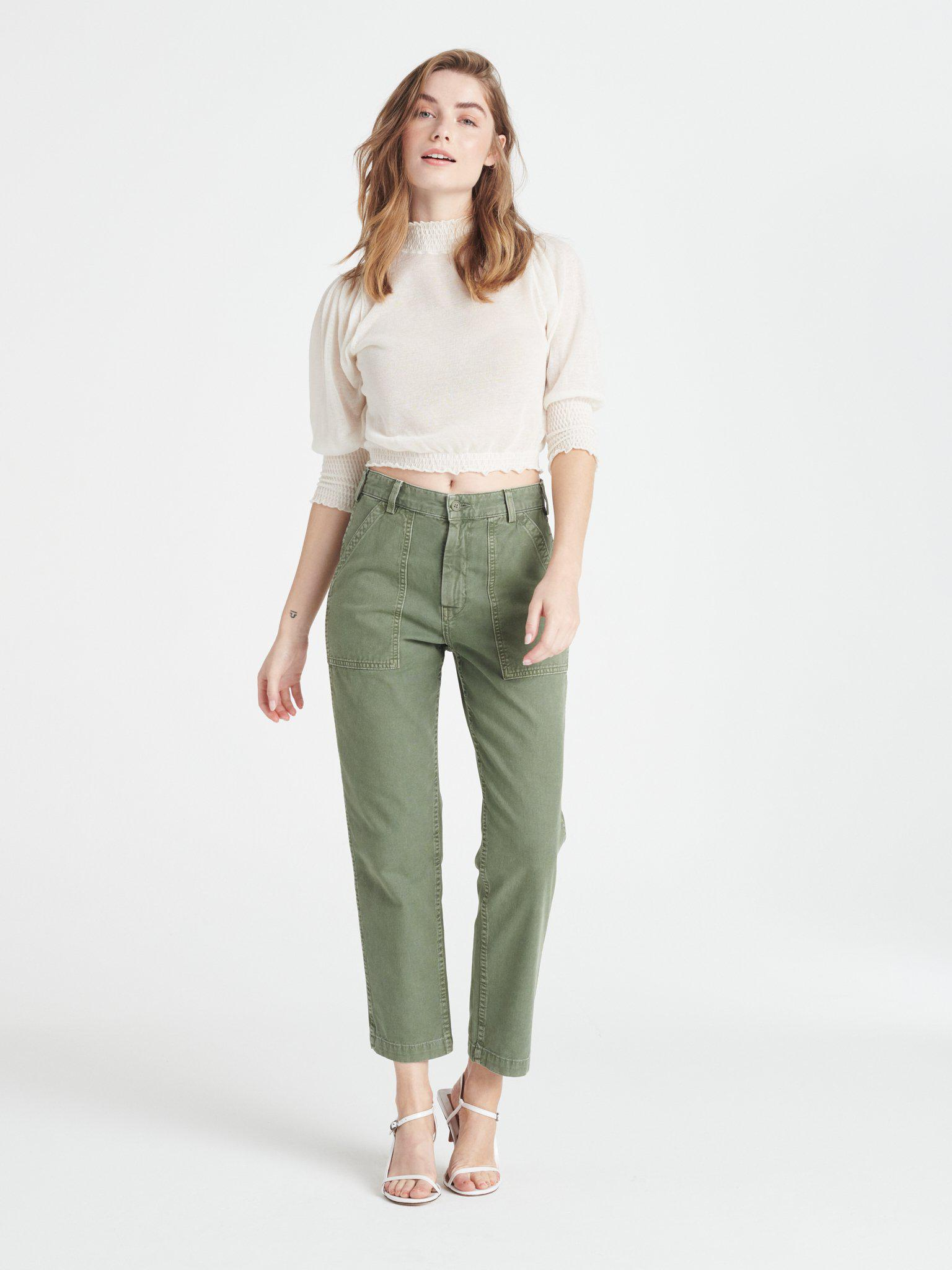 Officer Pant - Fatigue Green