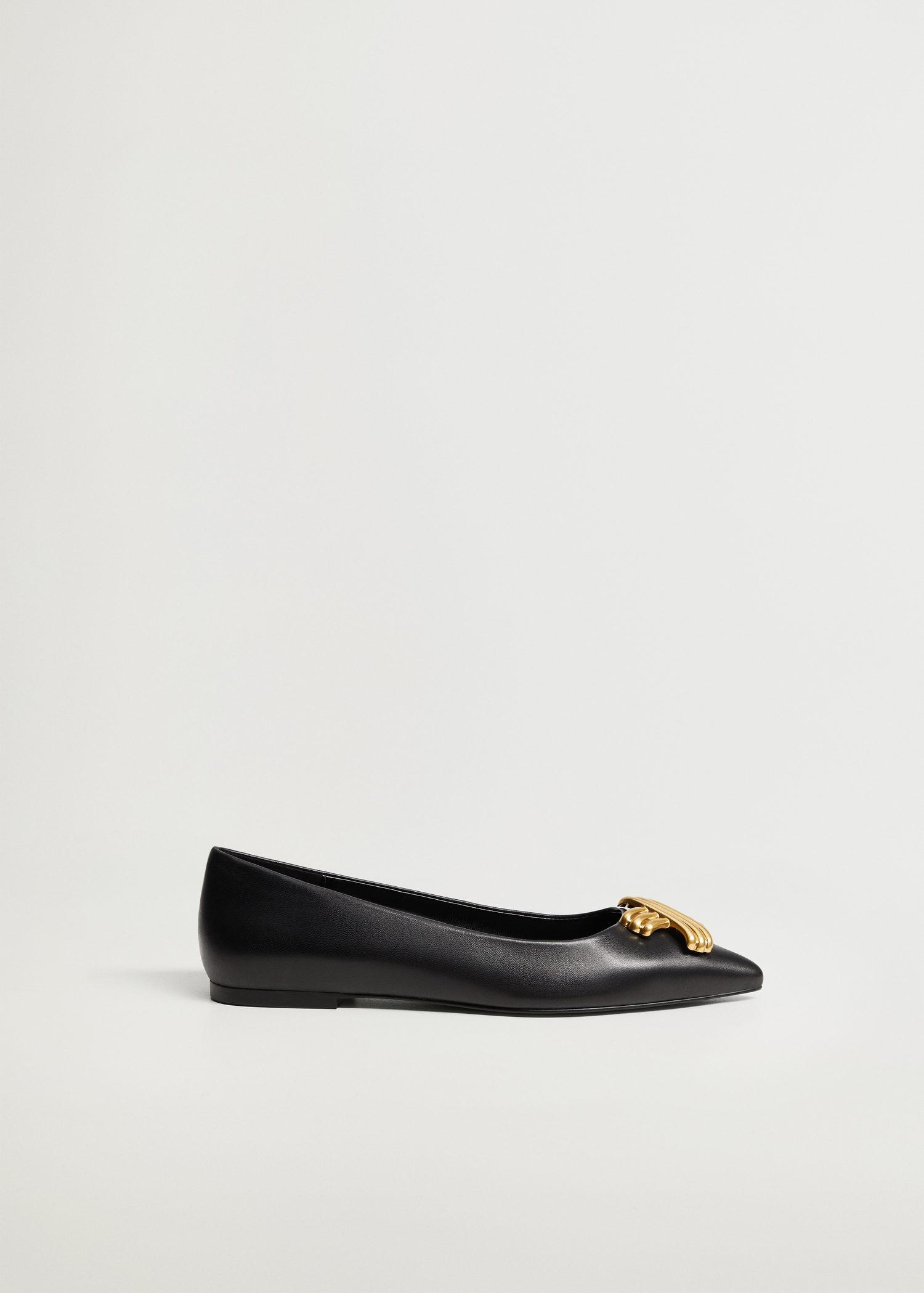 Pointed toe flat shoes 0