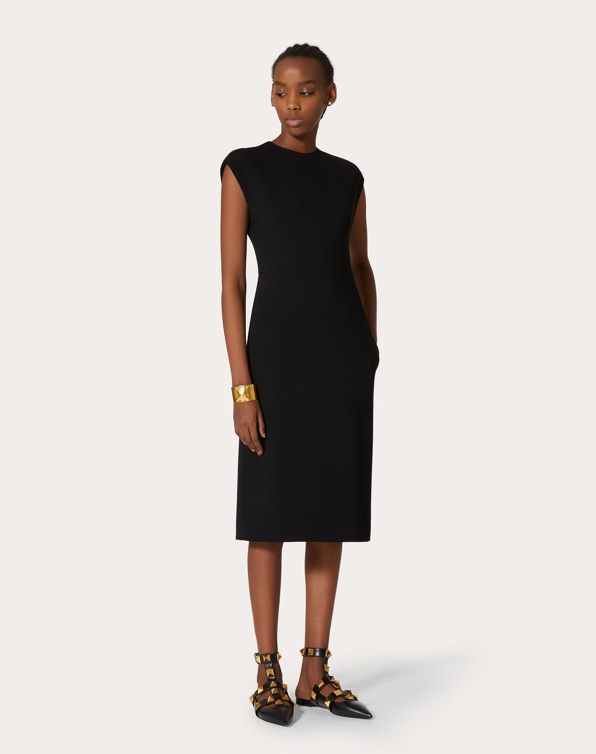 STRETCH CREPE COUTURE DRESS 1