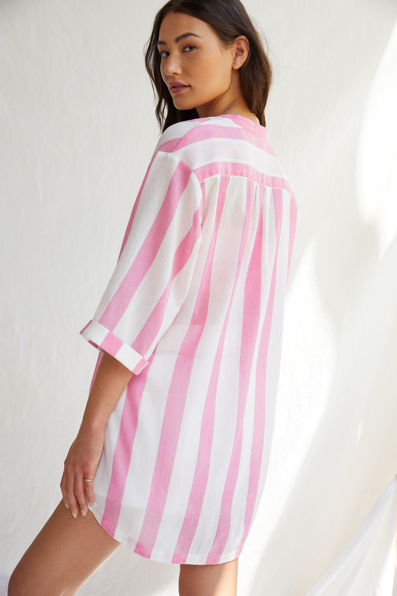 Maeve High-Low Tunic Blouse 1