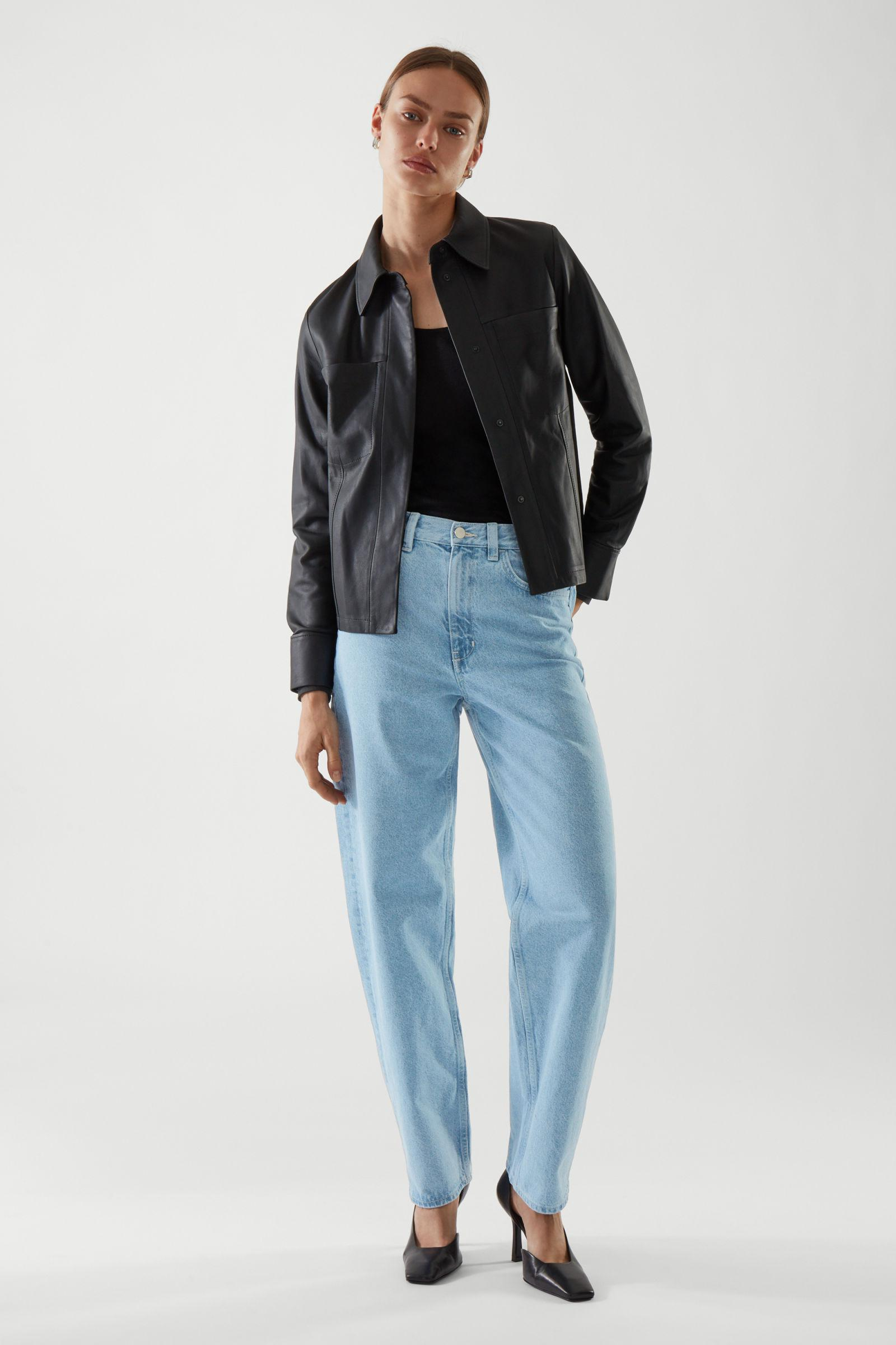 STRAIGHT-FIT LOOSE JEANS