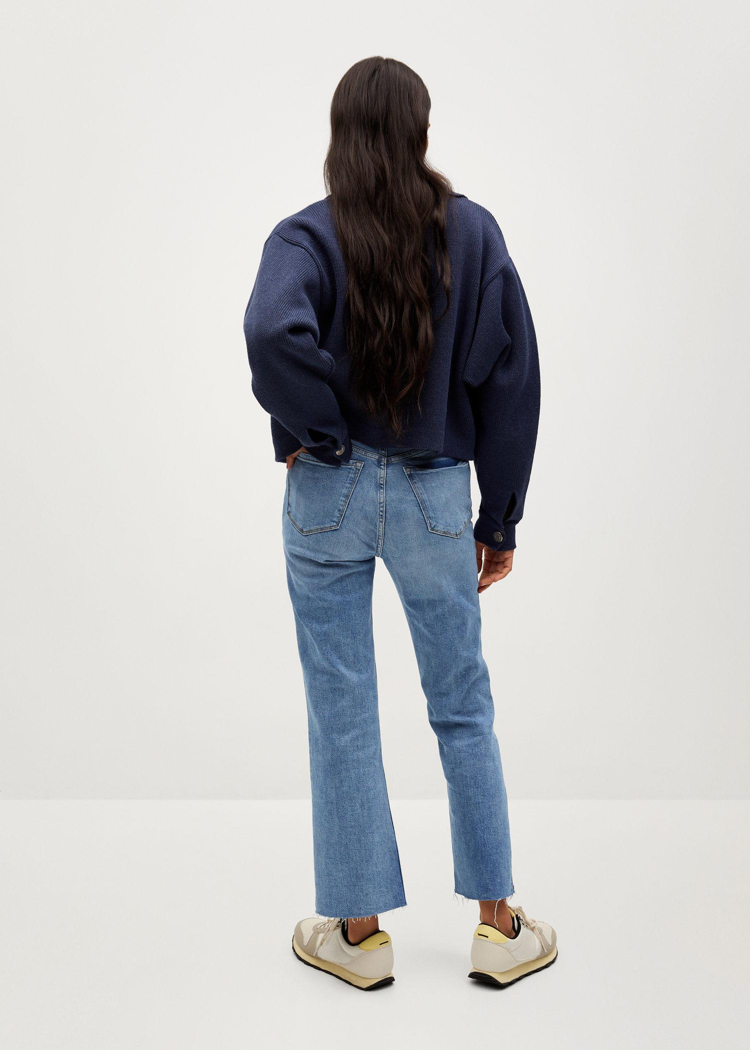 Crop flared jeans 2