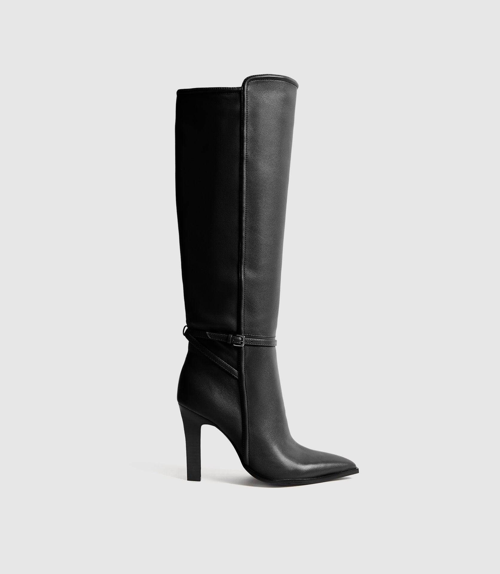 ADA - KNEE-HIGH LEATHER BOOTS