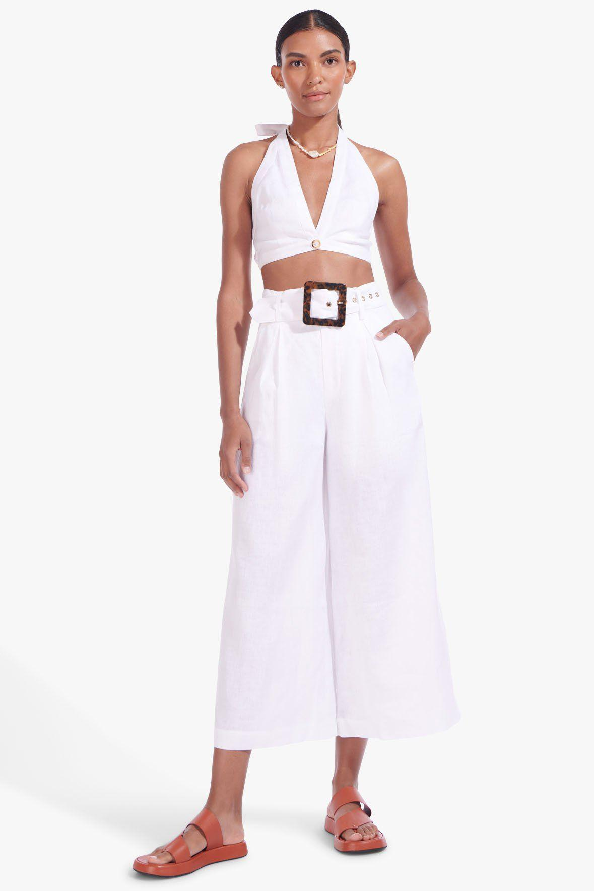 CLAIRE PANT | WHITE