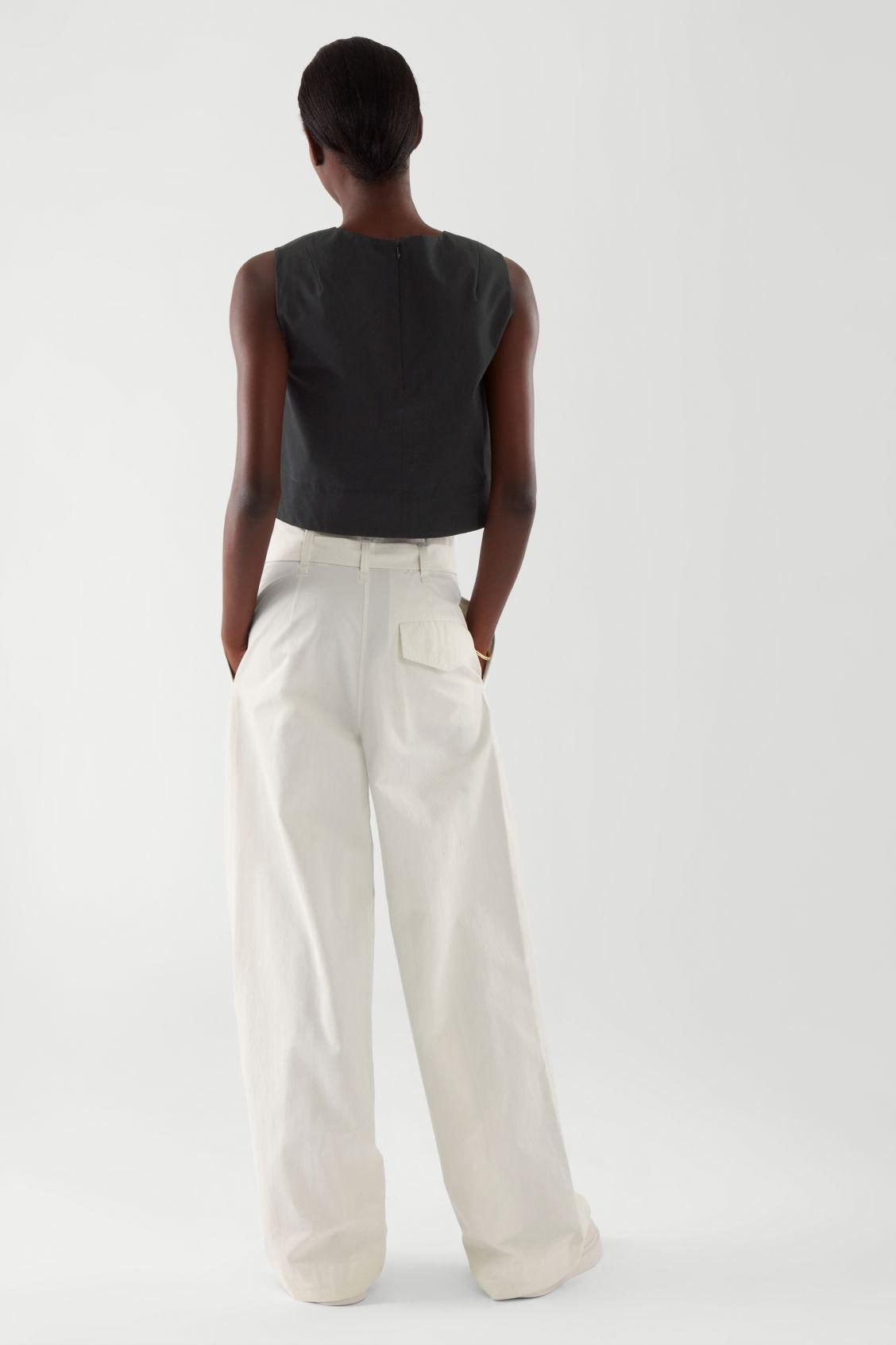 A-LINE CROPPED TOP 4