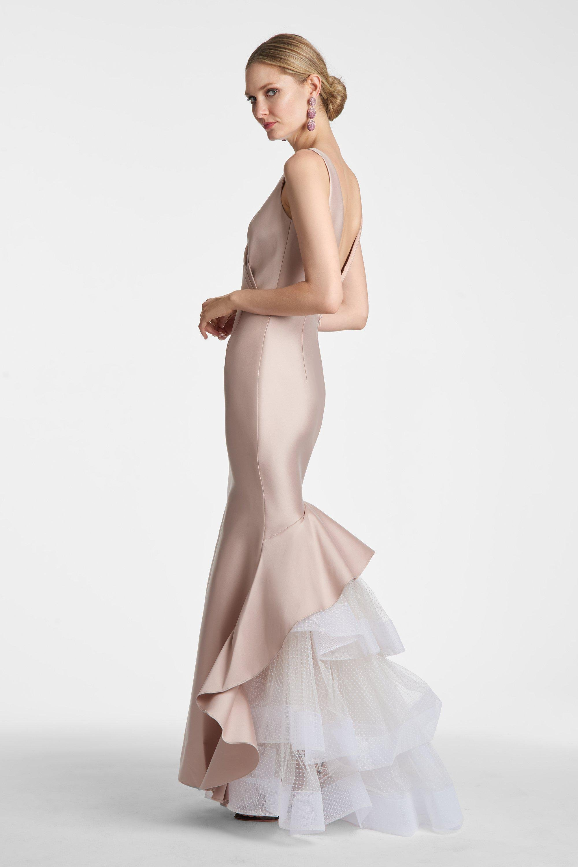 Chesterton Gown - Taupe