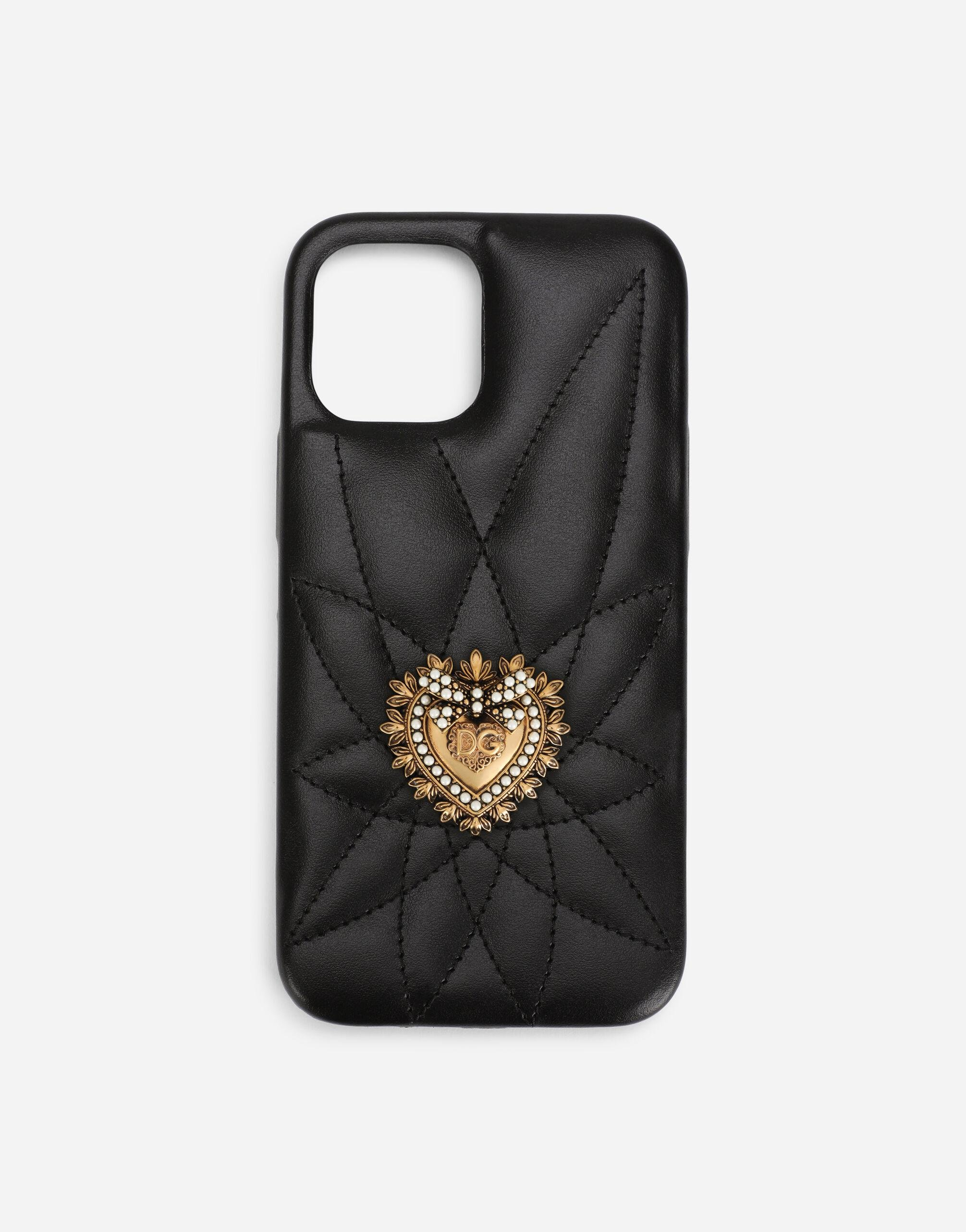 Quilted calfskin Devotion iPhone 12 Pro max cover