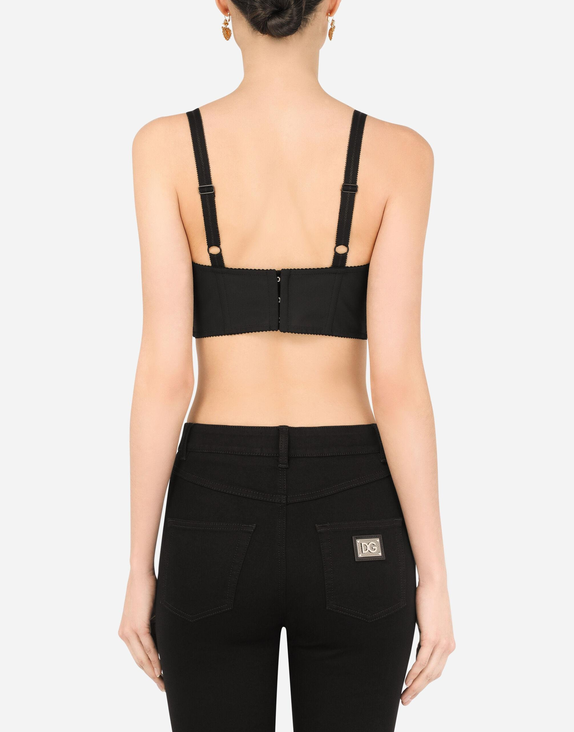 Bustier top with sweetheart neckline 1