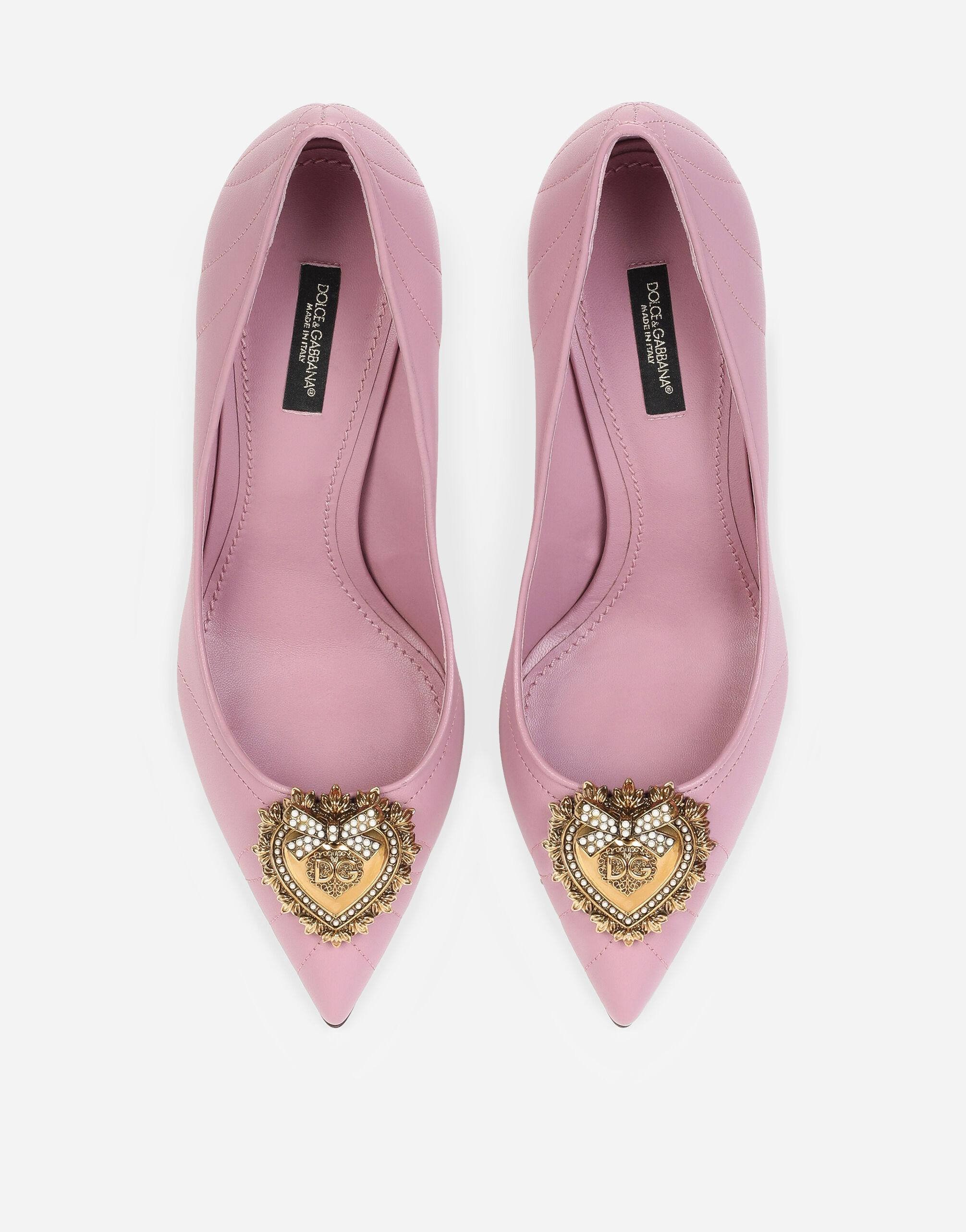 Quilted nappa leather Devotion pumps 3