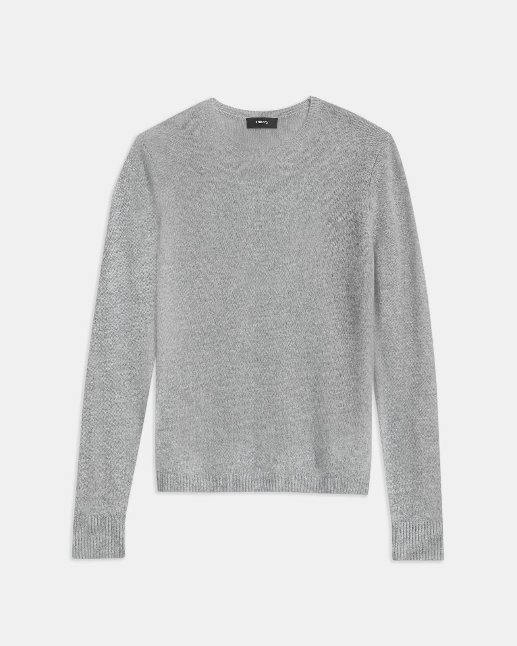 Crewneck Sweater in Feather Cashmere 5