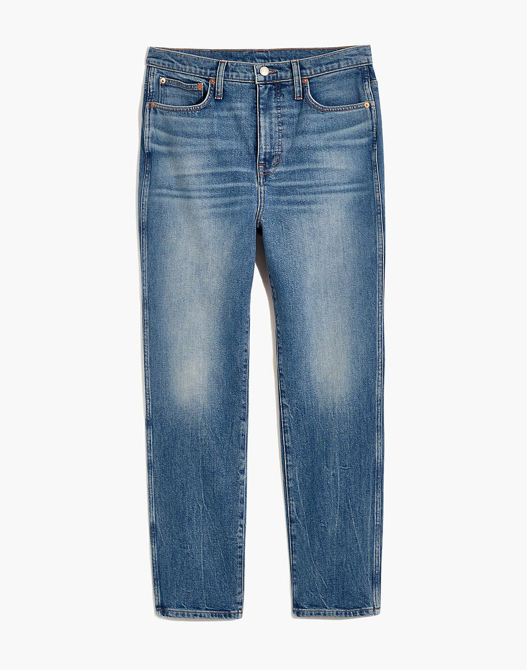 Rivet & Thread High-Rise Stovepipe Jeans in Keyes Wash 4