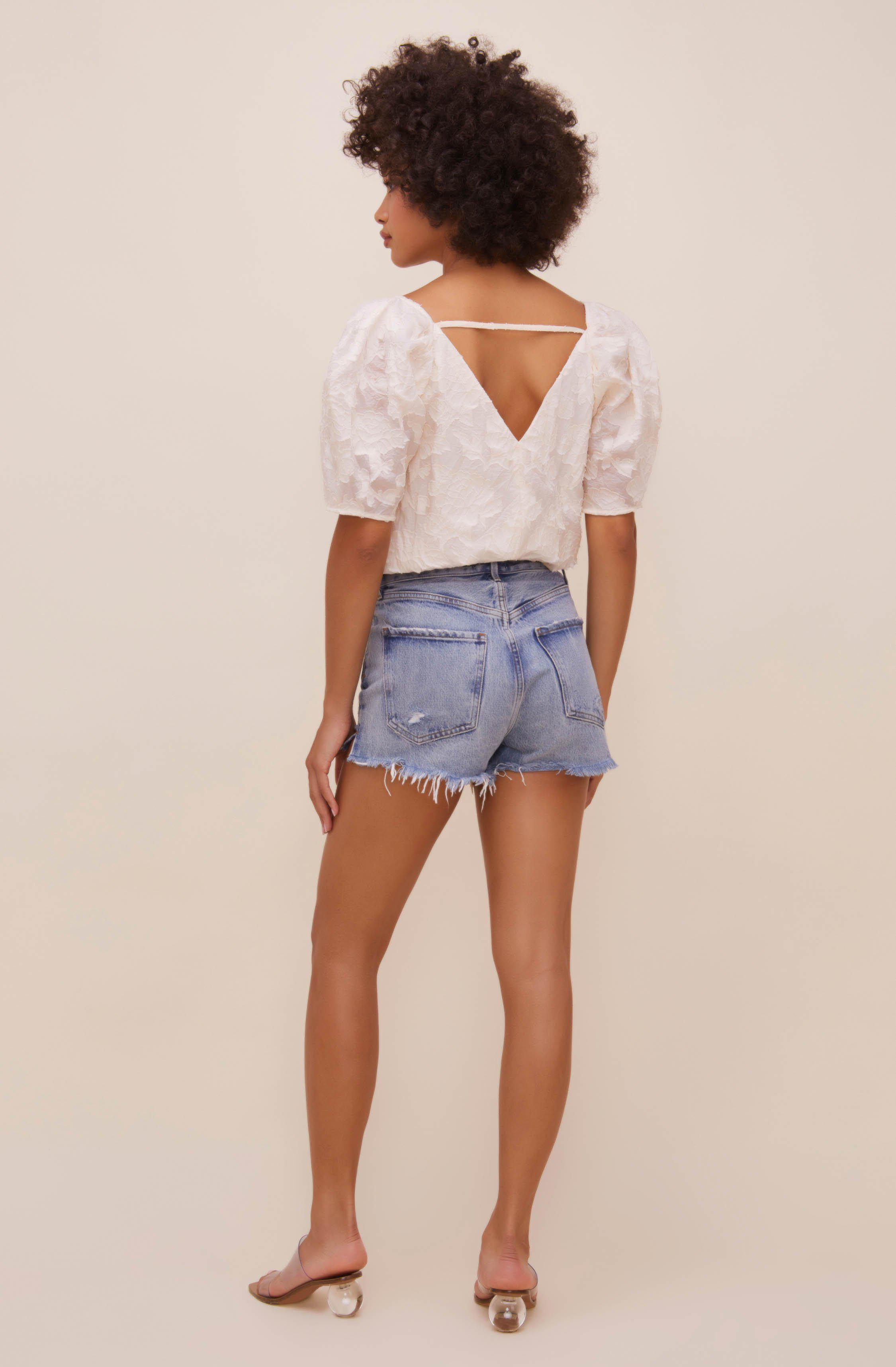 Colby Puff Sleeve Bodysuit 3