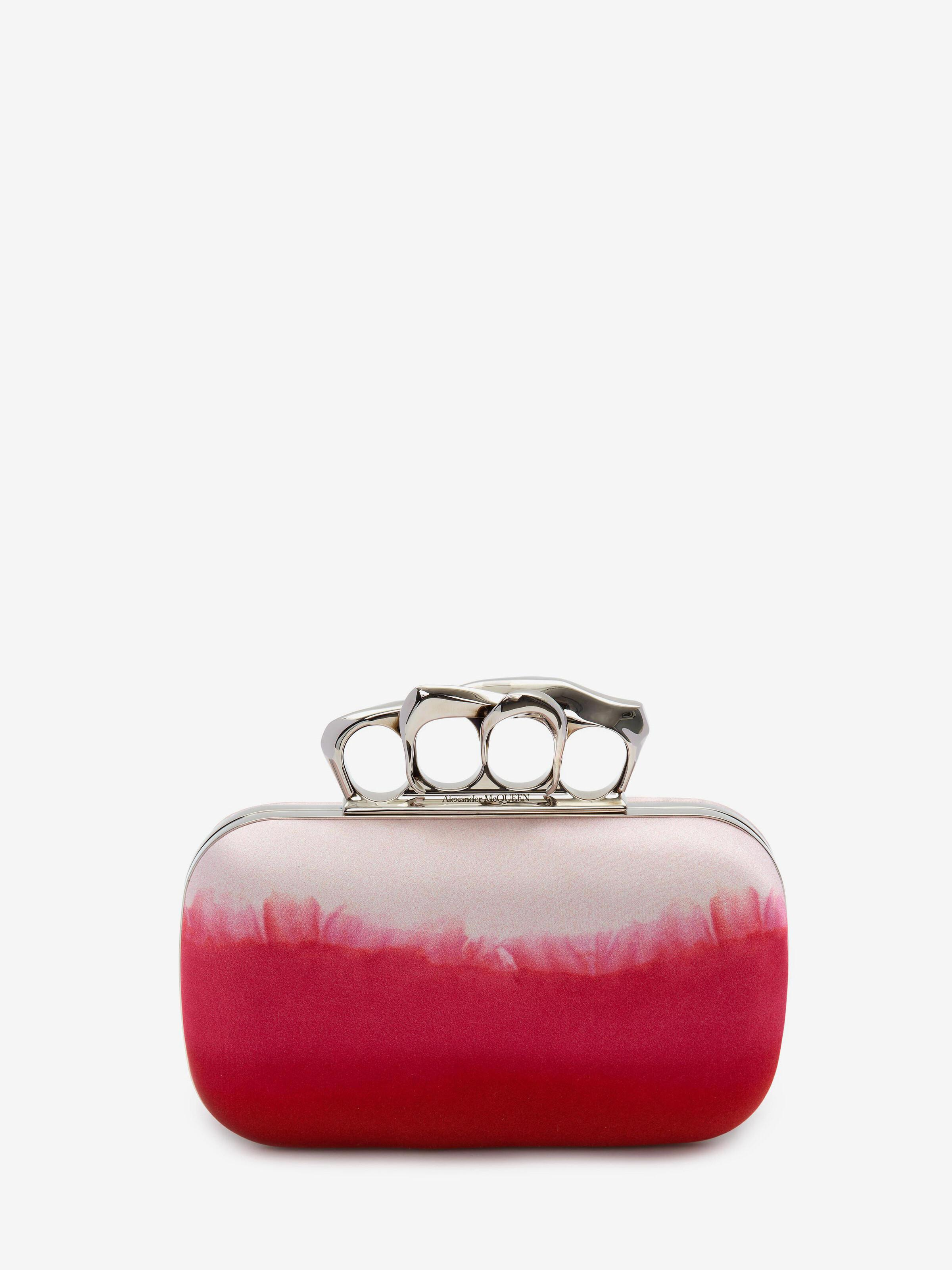 Sculptural Four-Ring Pouch