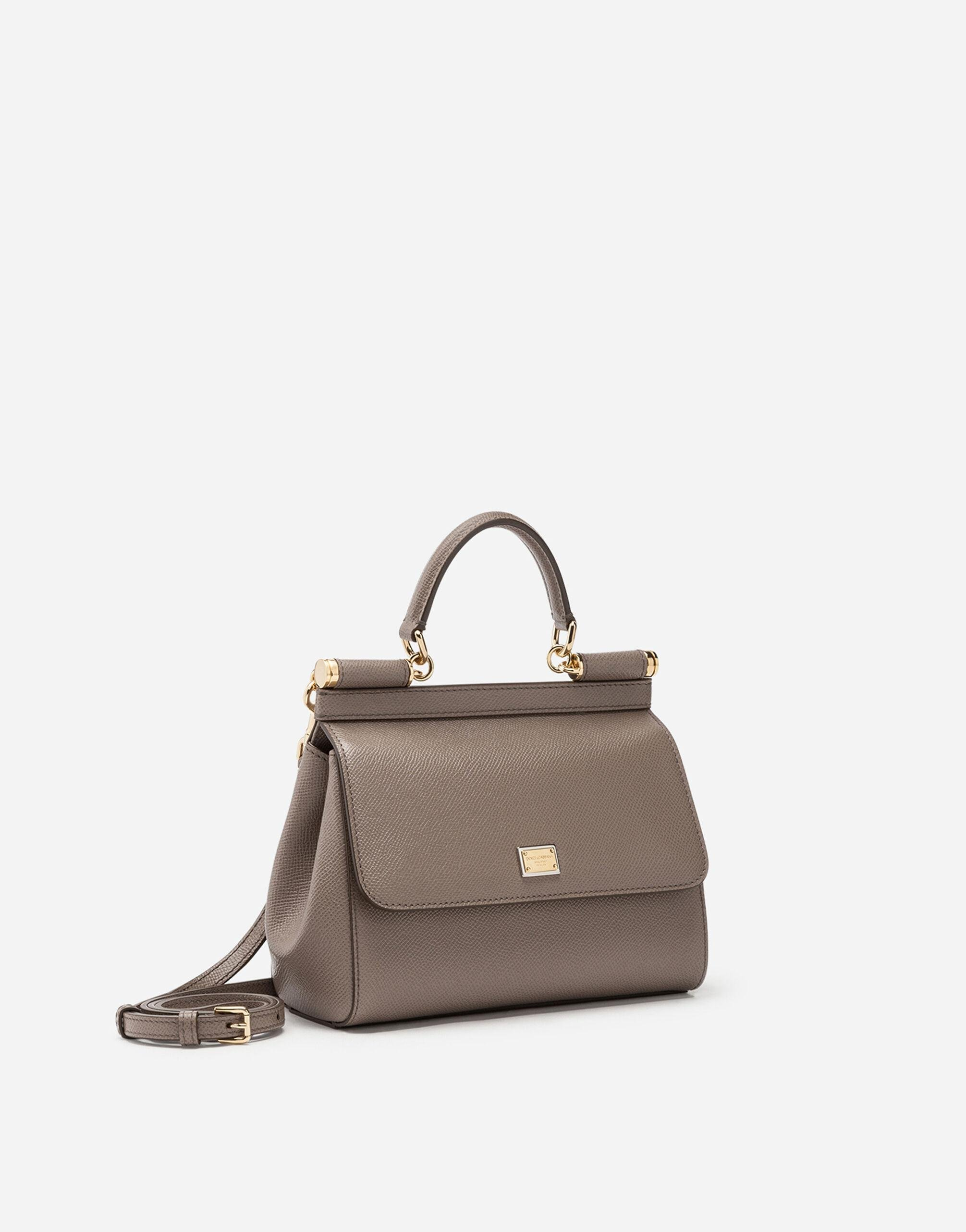 Small dauphine leather Sicily bag 1