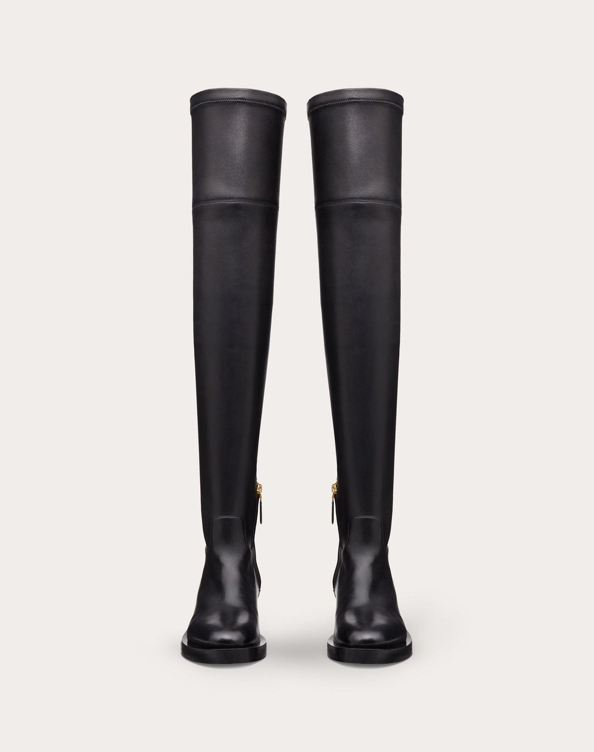 ROMAN STUD STRETCH NAPPA OVER-THE-KNEE BOOT 30MM 4