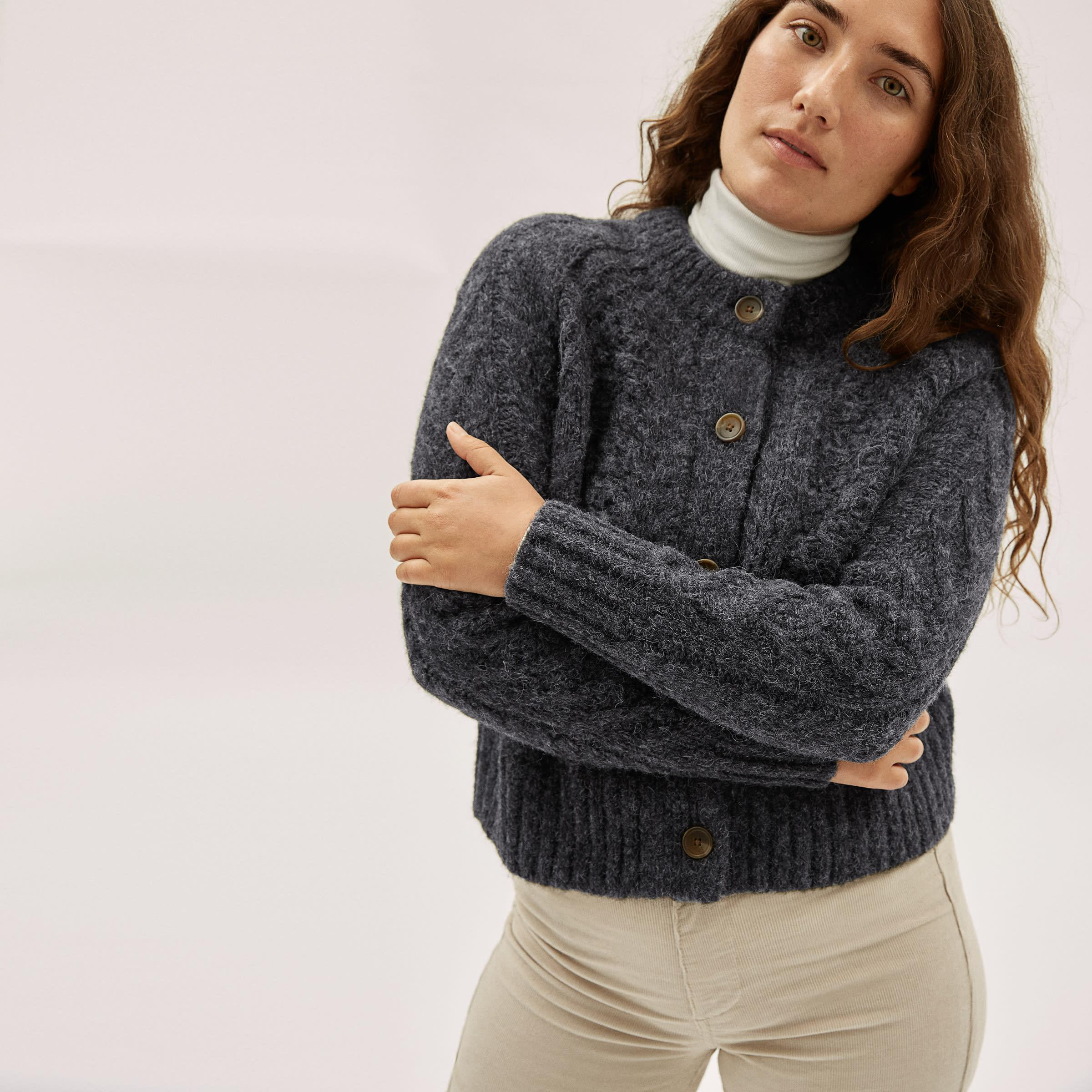 The Cloud Cable Cardigan 1