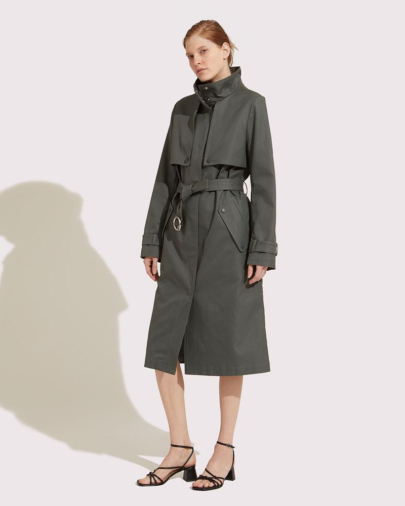 Trench coat fitted 3