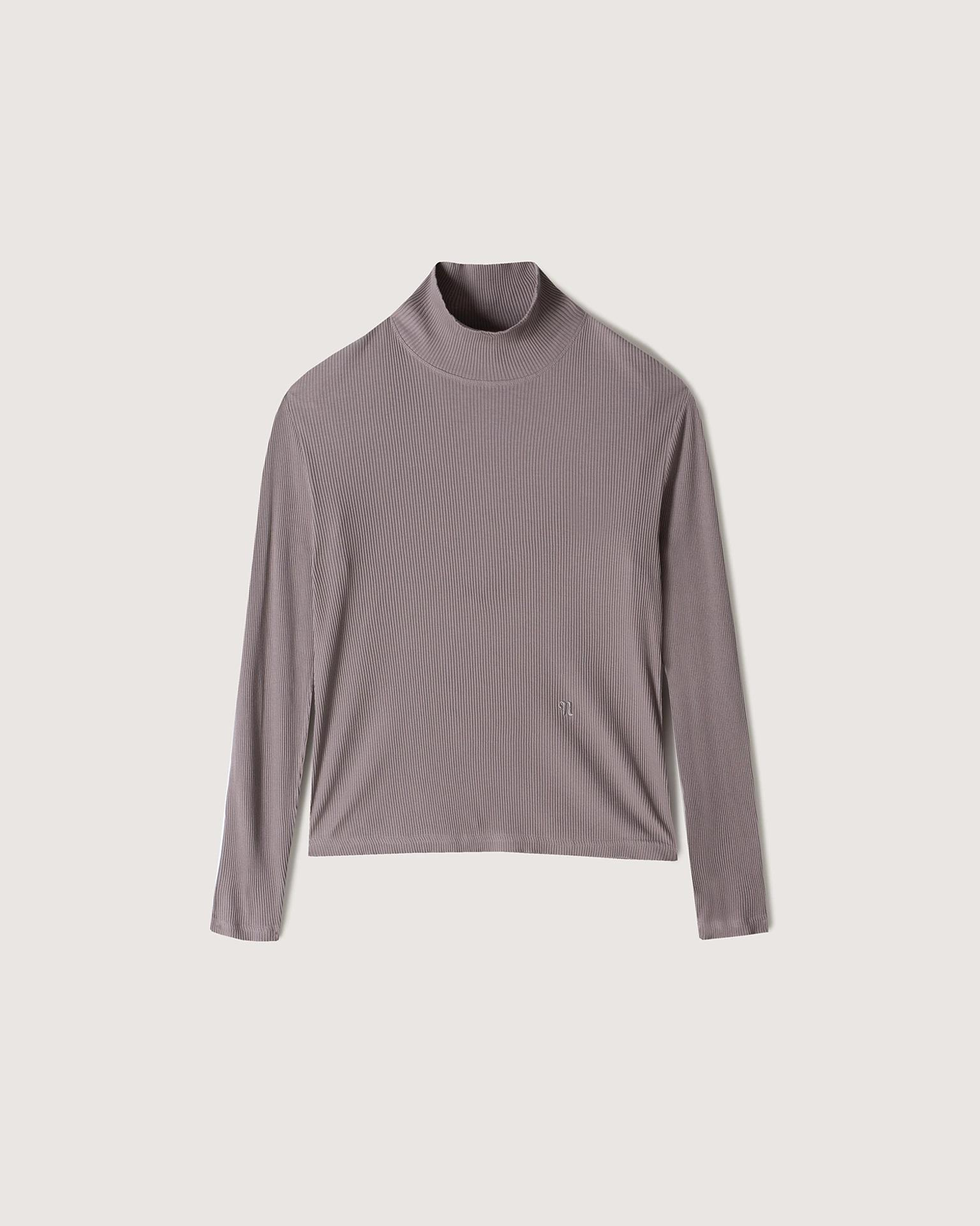 ZORG - Ribbed-jersey top - Washed lilac