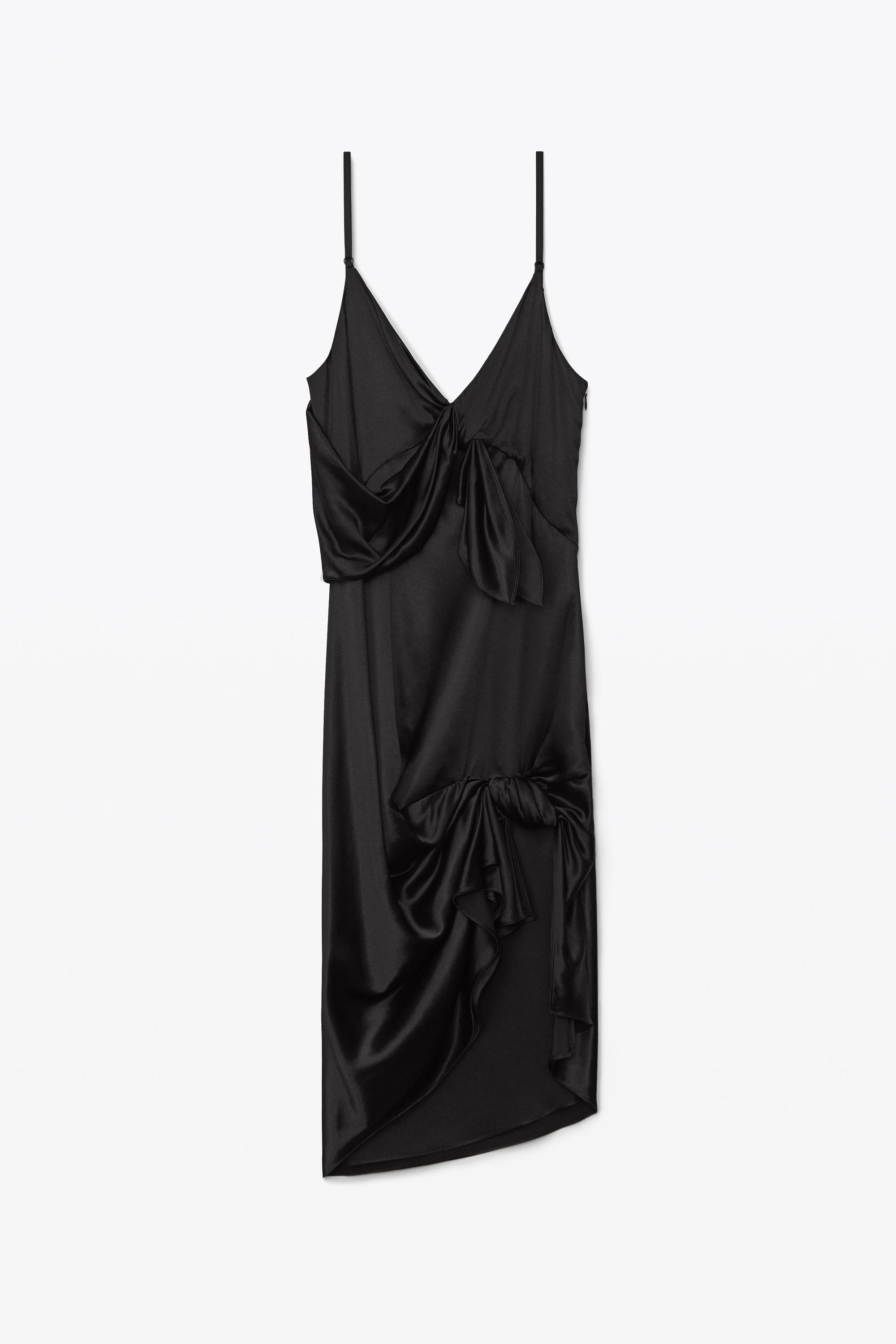 knotted slip dress 1