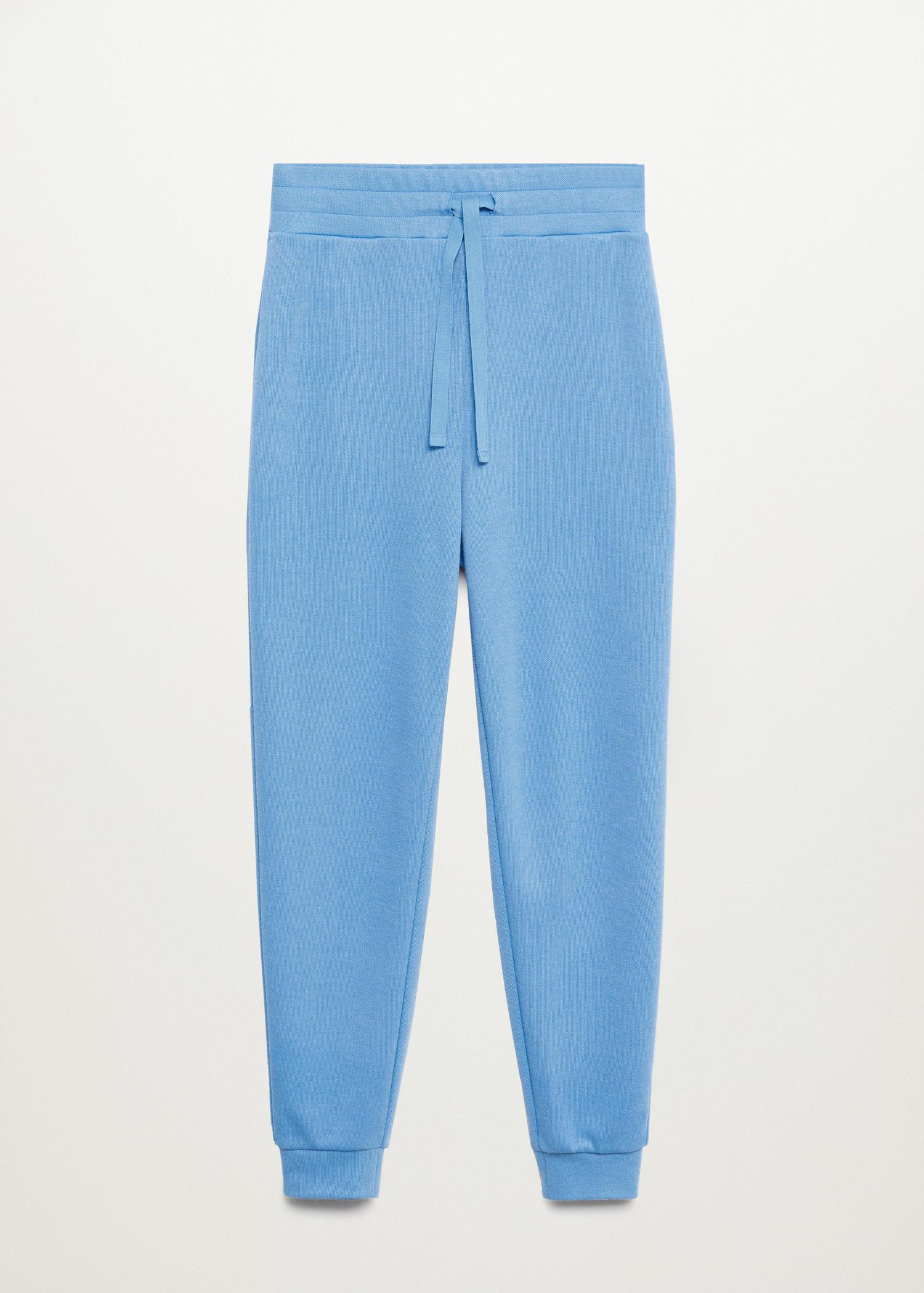 Knit jogger-style trousers 8
