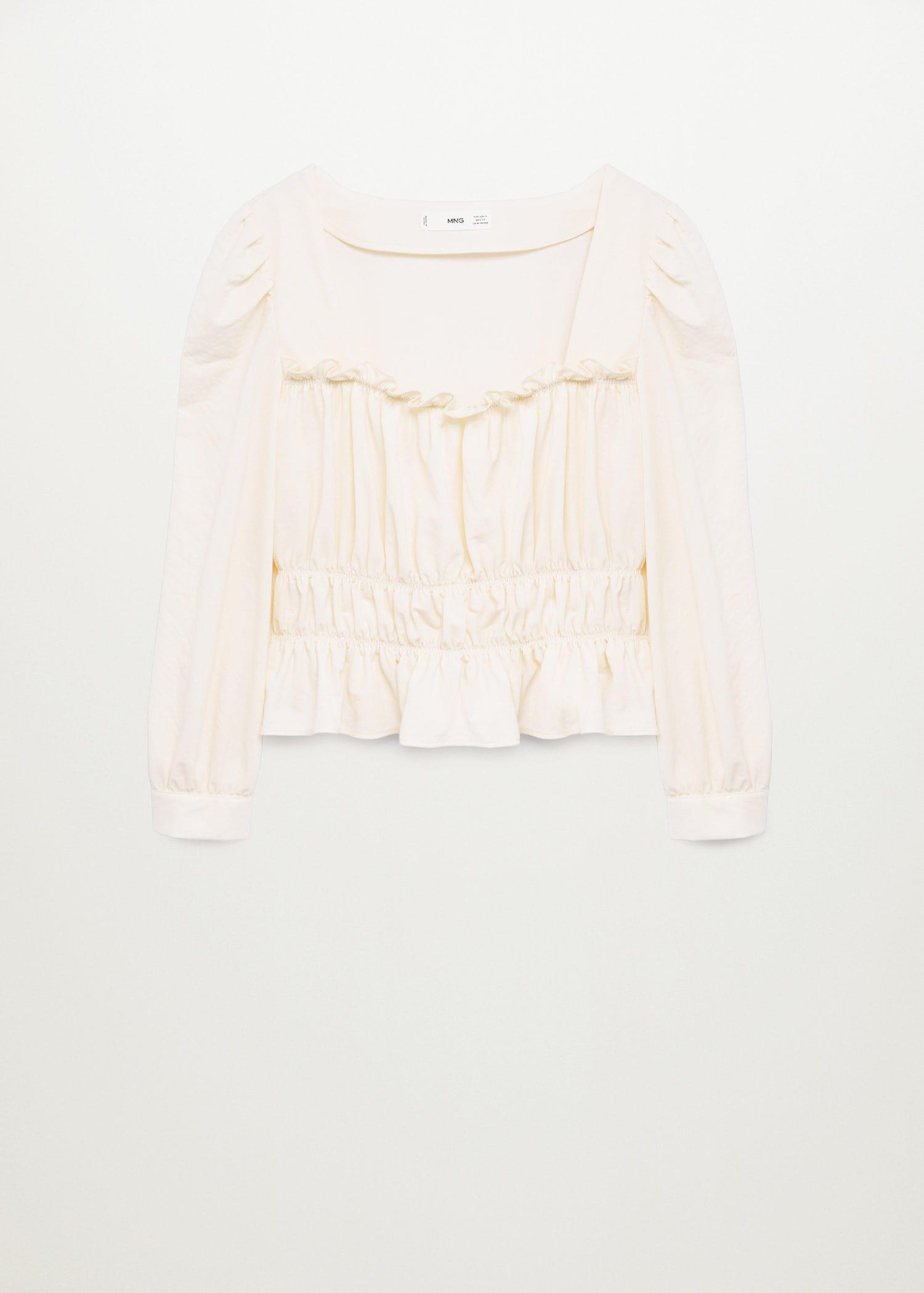Ruched detail top 7