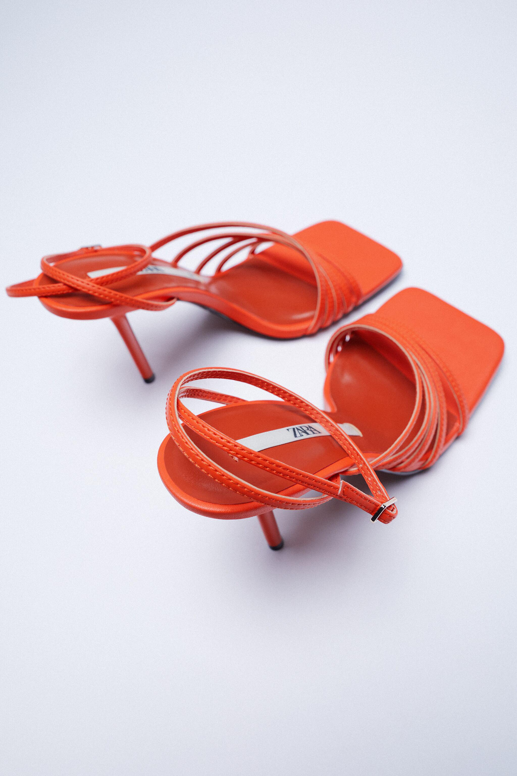 HEELED SANDALS WITH THIN STRAPS 6