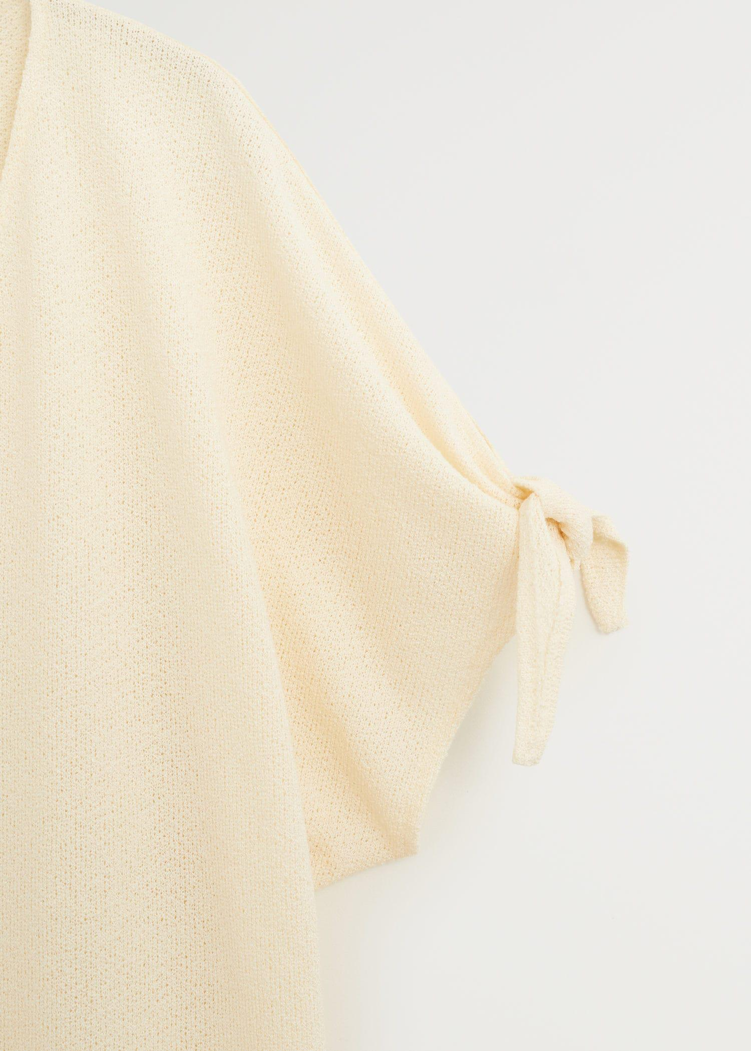 Knotted jersey T-shirt 7