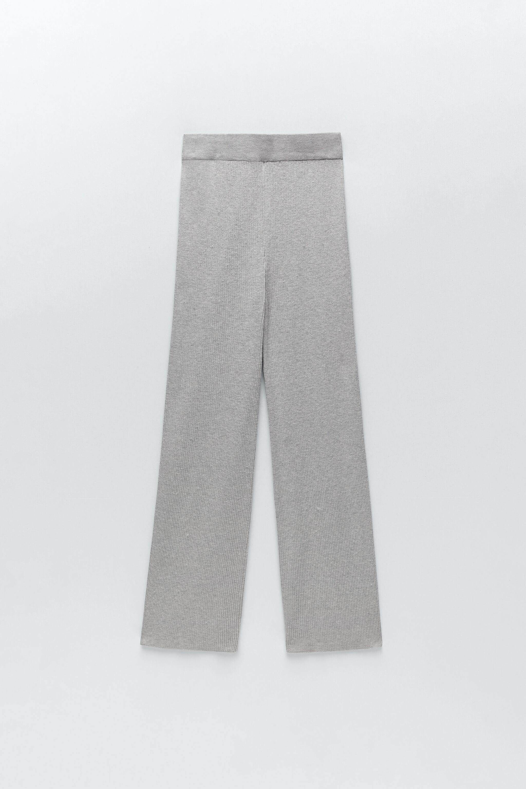 FLARED KNIT PANTS 5