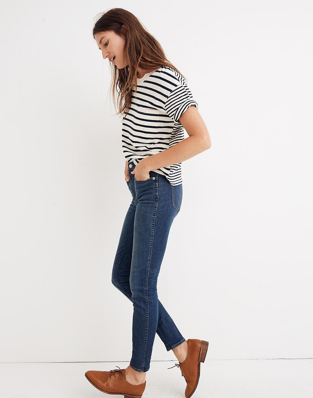 """Taller 10"""" High-Rise Skinny Jeans in Elinor Wash: Eco Edition 2"""
