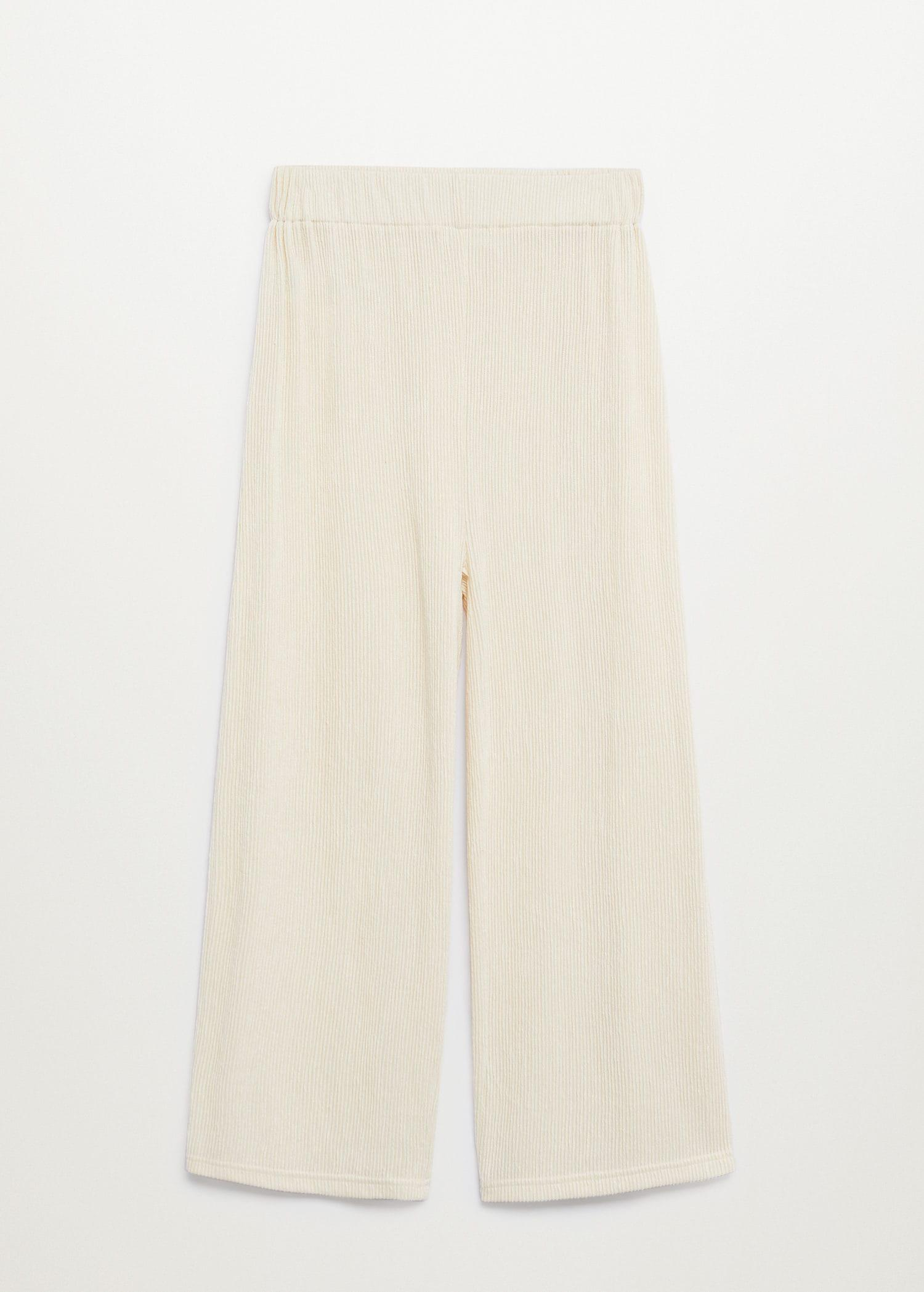 Pleated culotte trousers 6