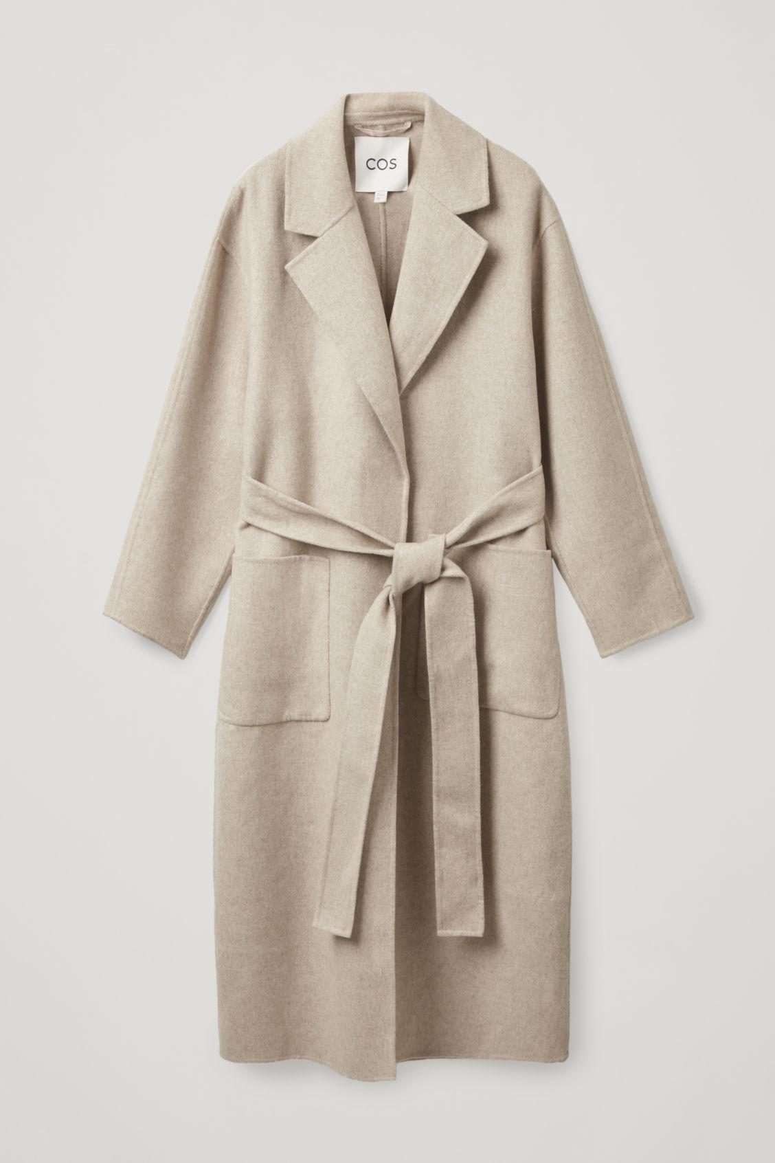 BELTED WRAP COAT 10