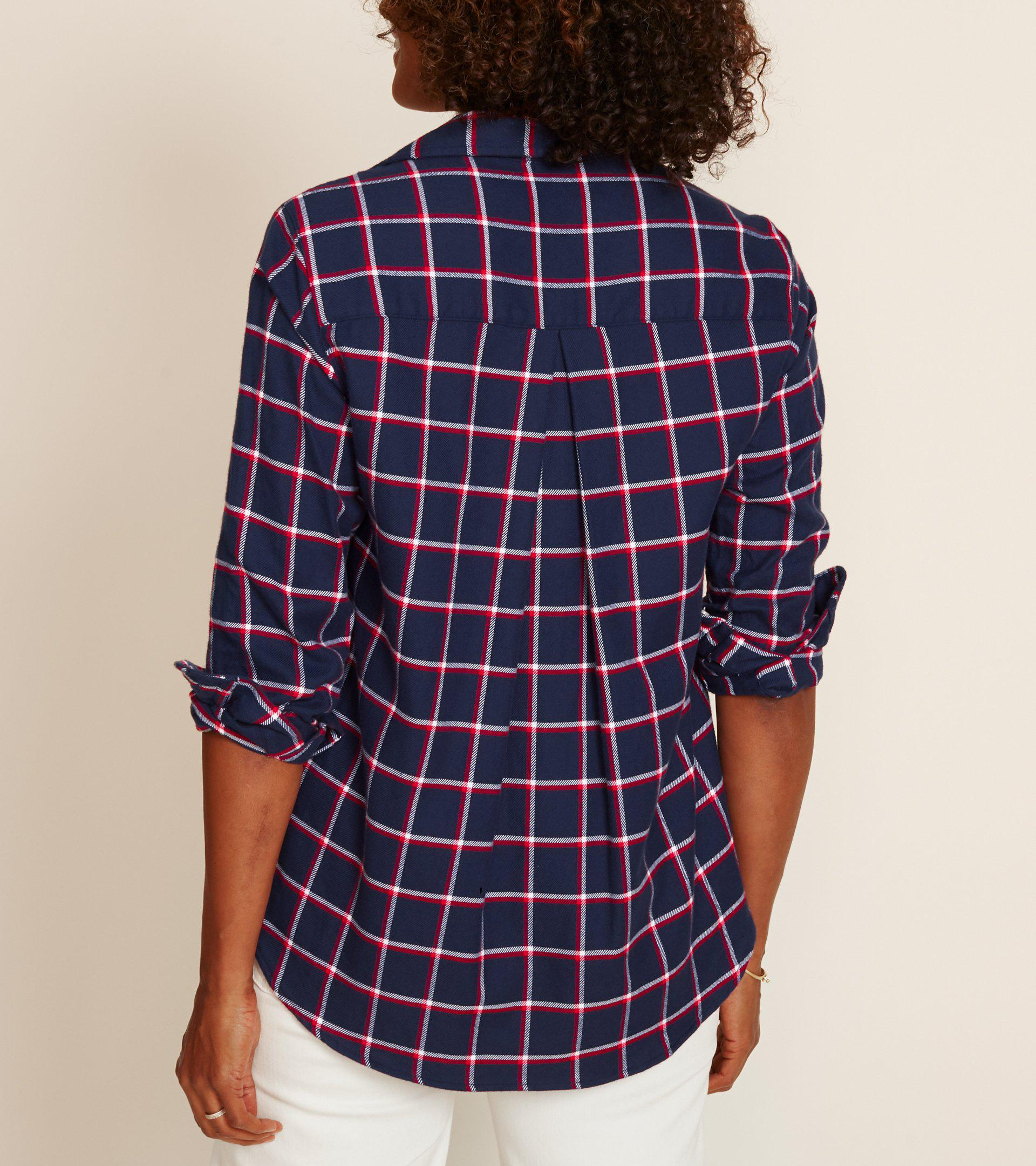 The Hero Navy with Red and White Plaid, Plush Flannel Final Sale 2