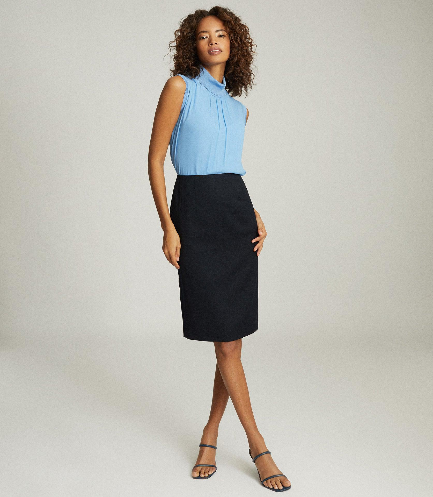 HAYES - TAILORED PENCIL SKIRT