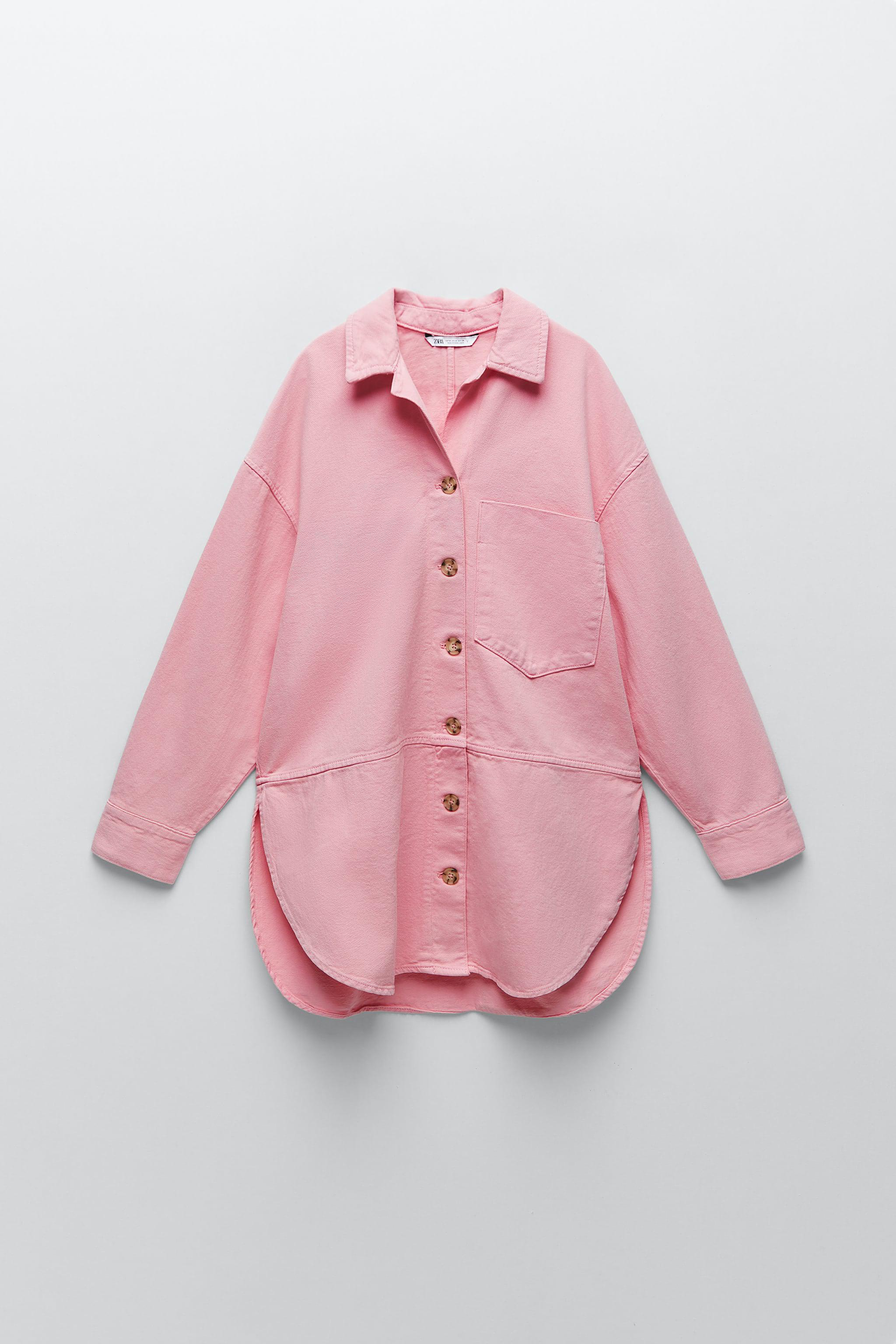 SOLID COLOR OVERSHIRT 1