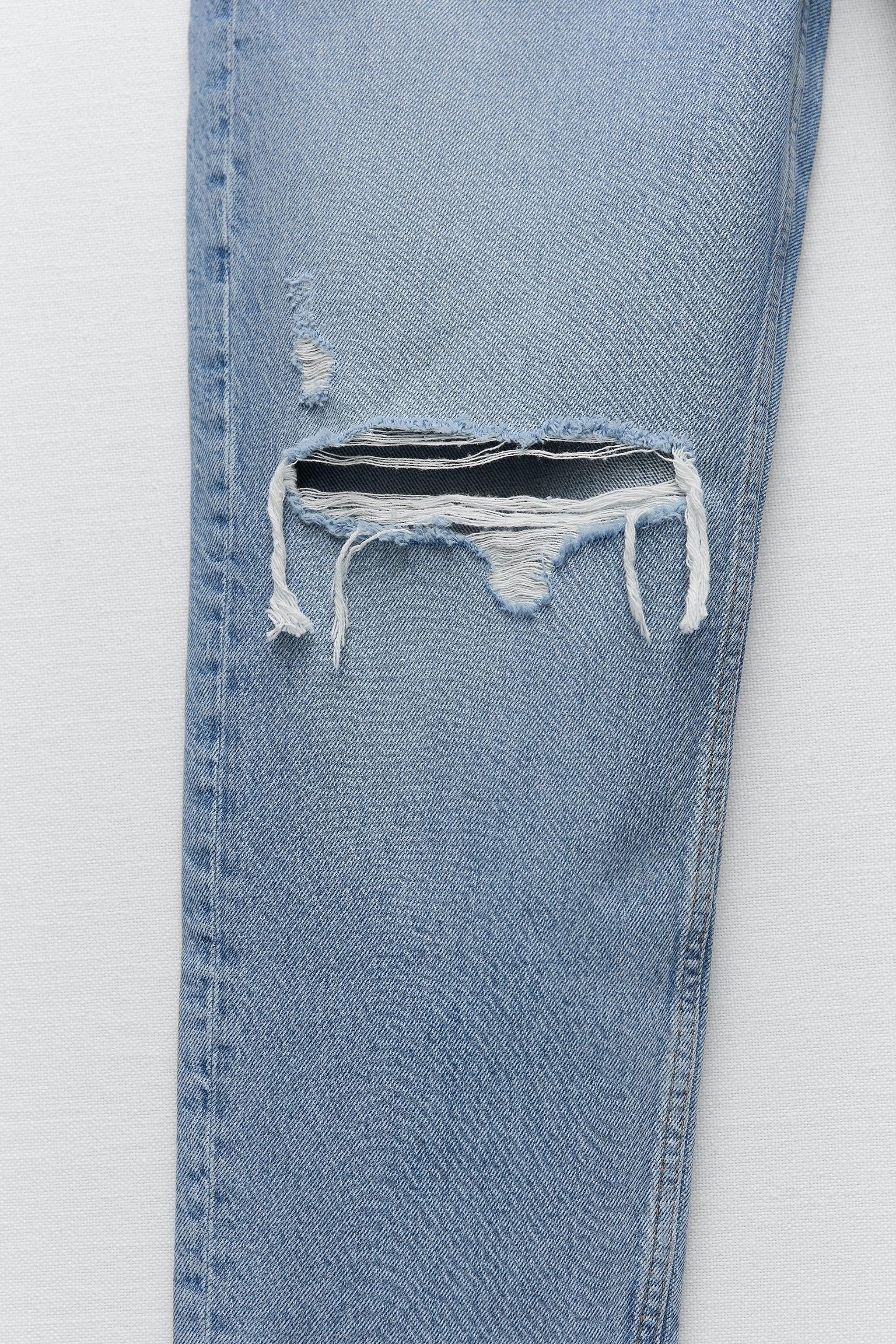 Z1975 RELAXED FIT RIPPED JEANS 9
