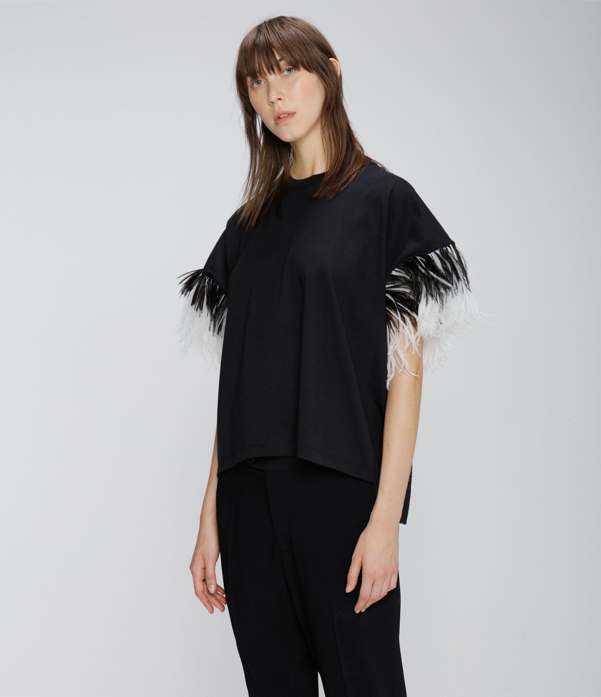 feather t-shirt 1