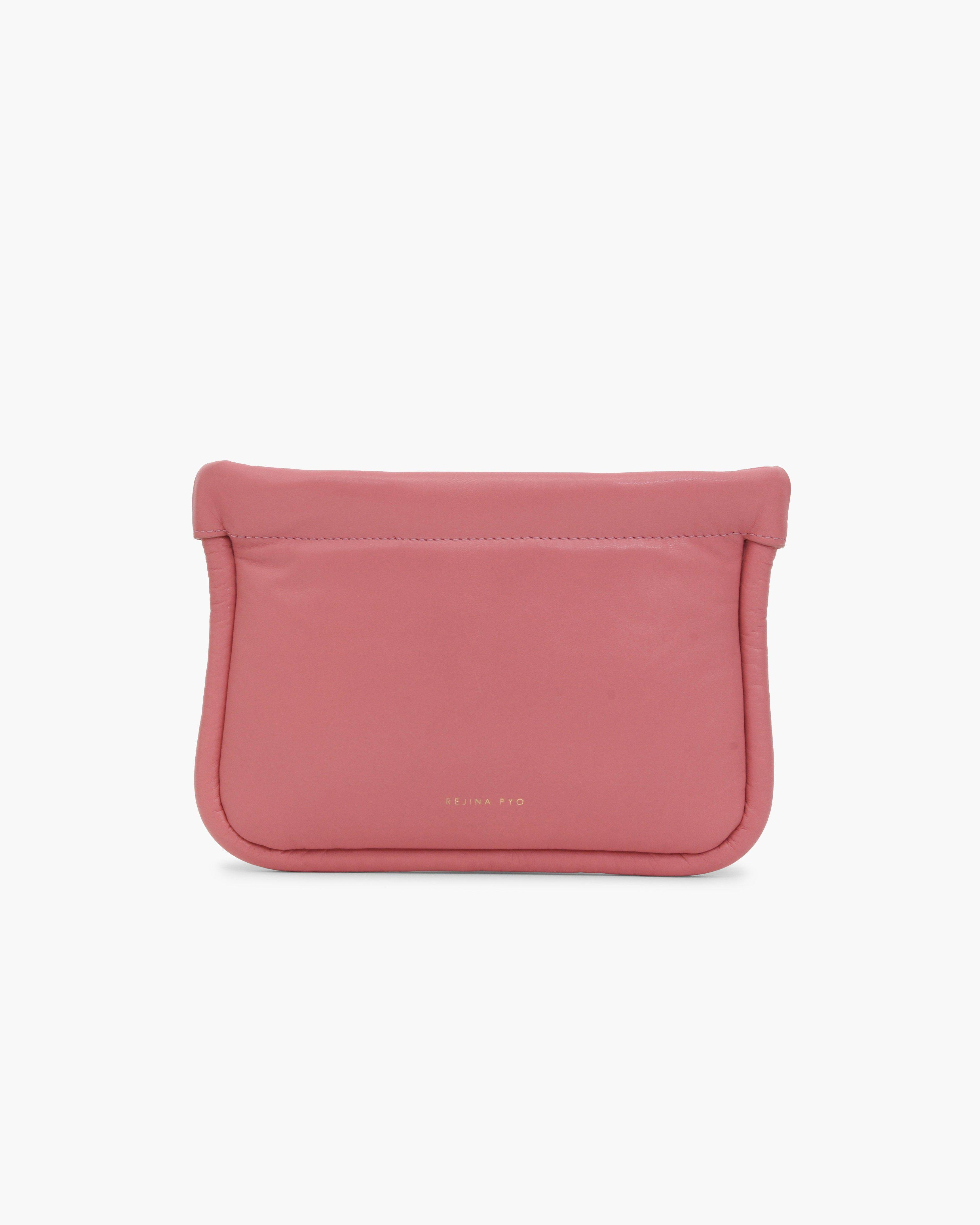 Lea Pouch Leather Pink