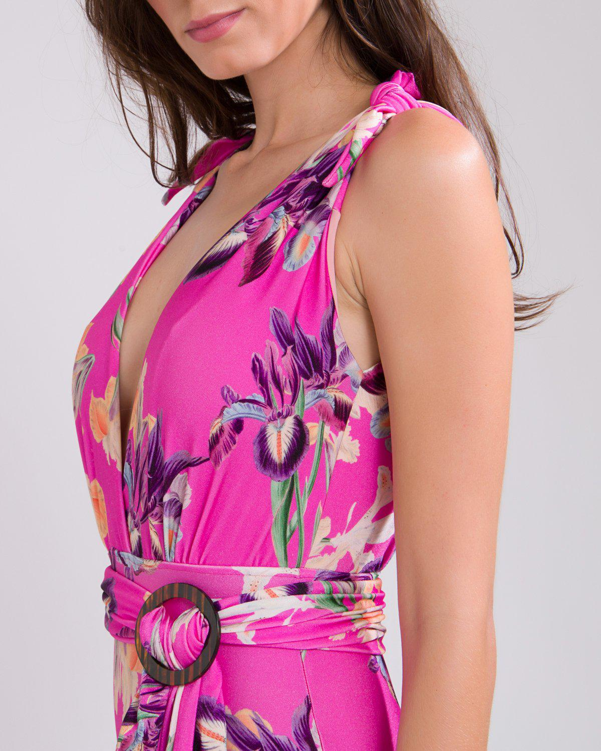 GRACE PLUNGE BELTED SWIMSUIT 3