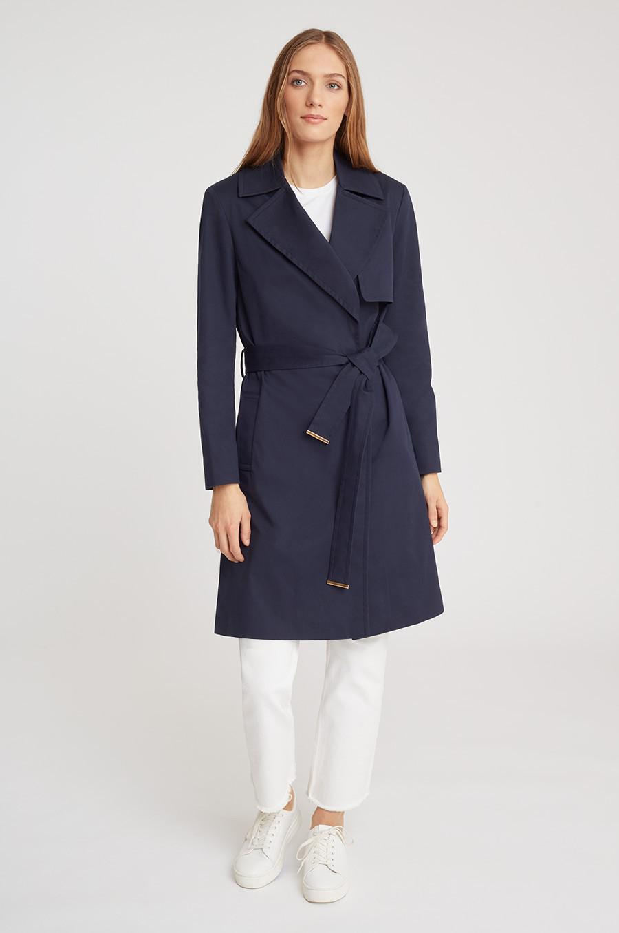 Women's Classic Trench in Navy | Size: 1