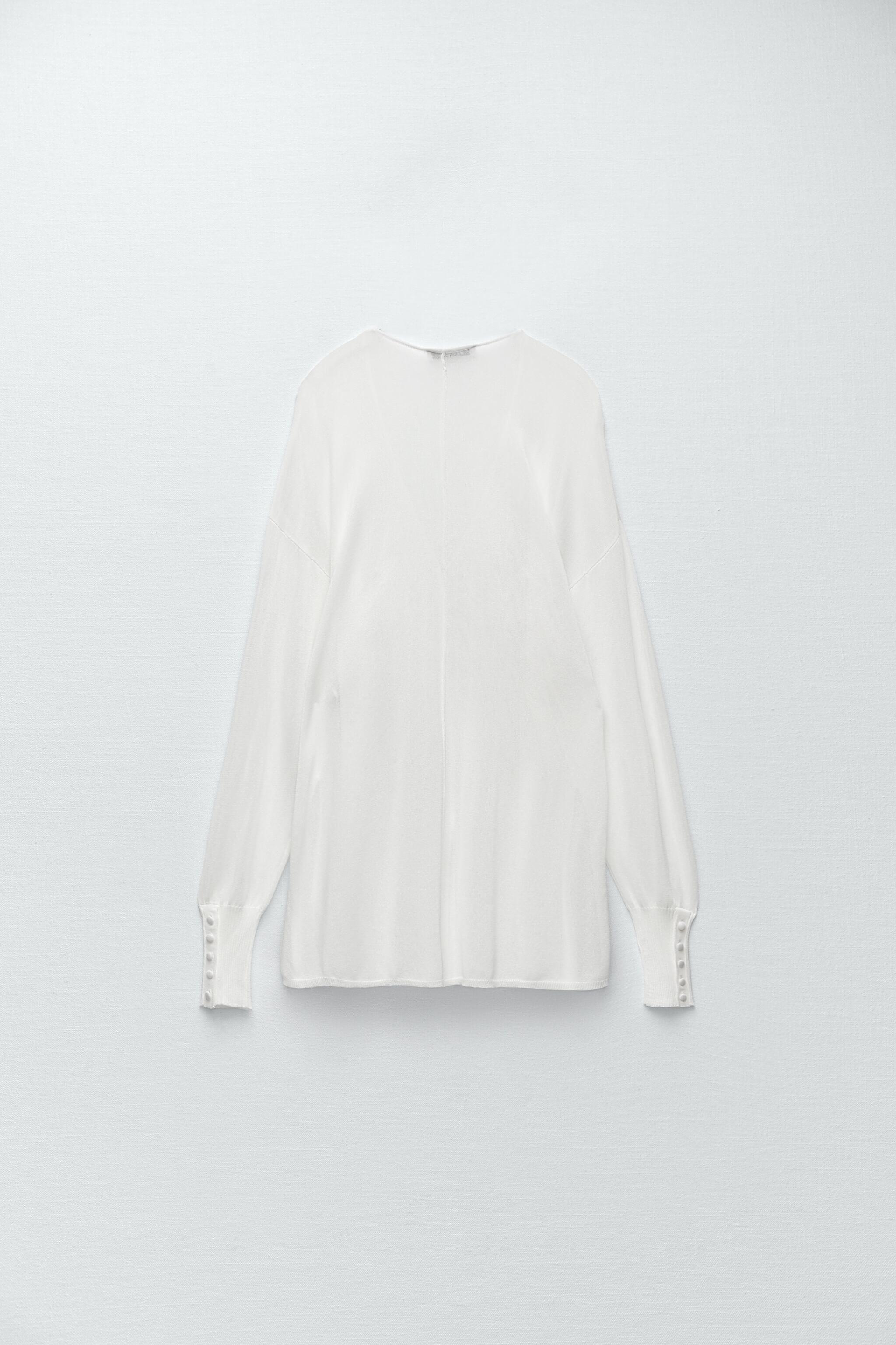 SEMI-SHEER KNIT BLOUSE LIMITED EDITION 5