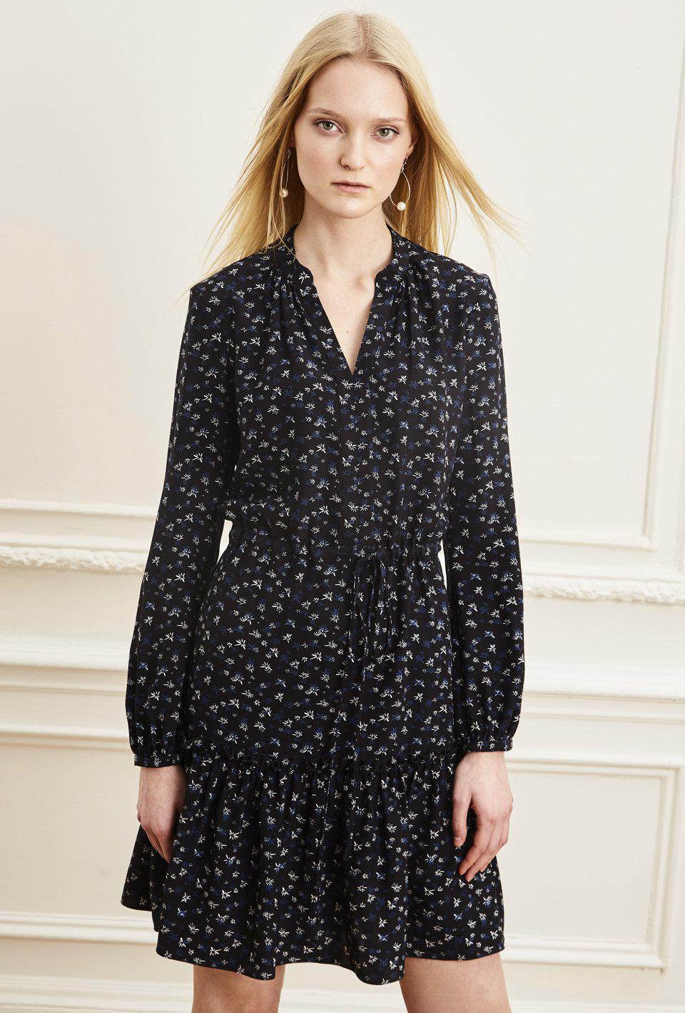 Fit and Flare Shirt Dress