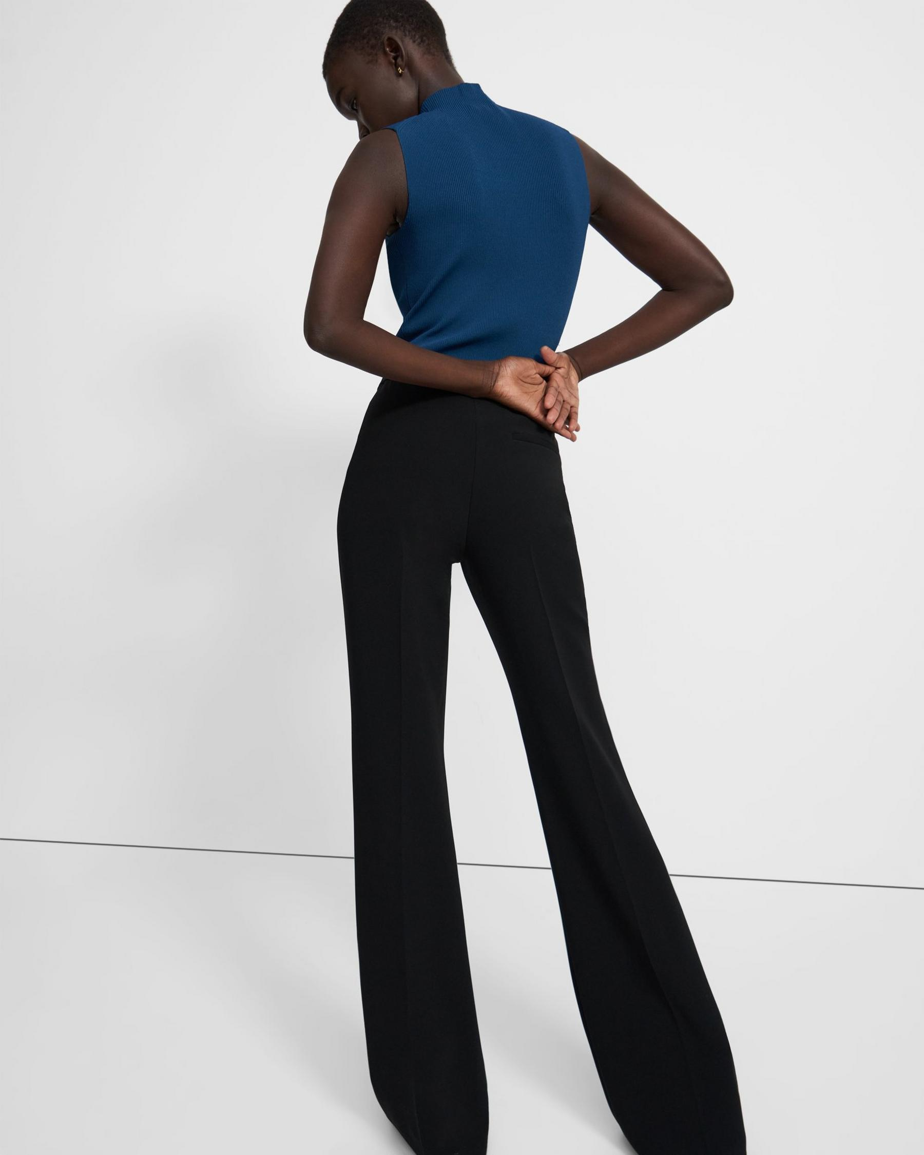 Demitria Pull-On Pant in Crepe 2
