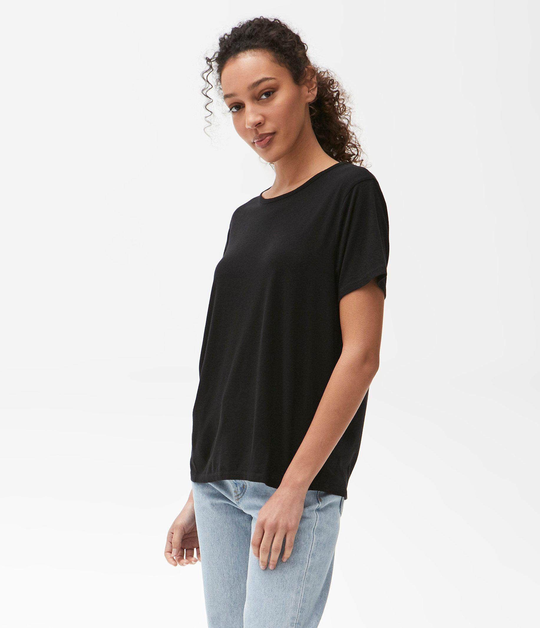 Brittany Relaxed Crew Tee 1