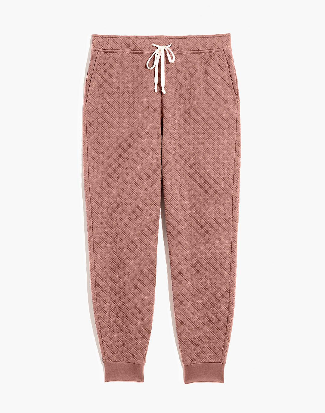 (Re)sourced Quilted Jogger Sweatpants