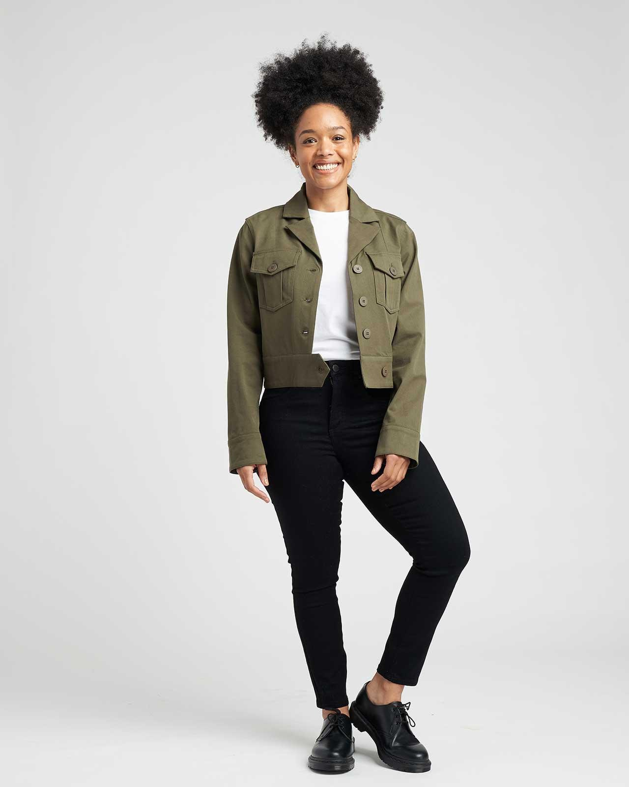 Chelsea Stretch Cotton Twill Jacket 4