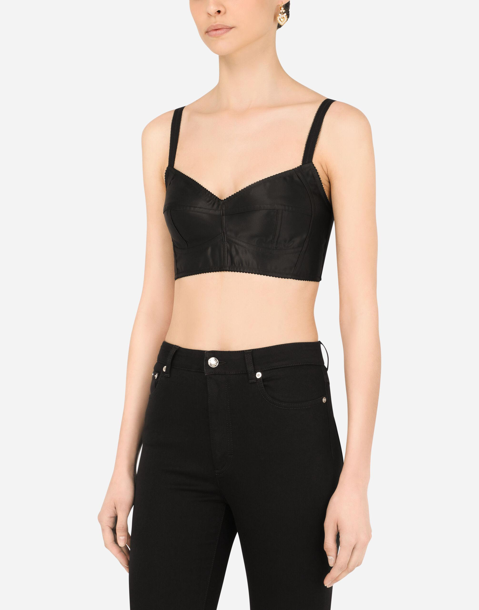 Bustier top with sweetheart neckline 2