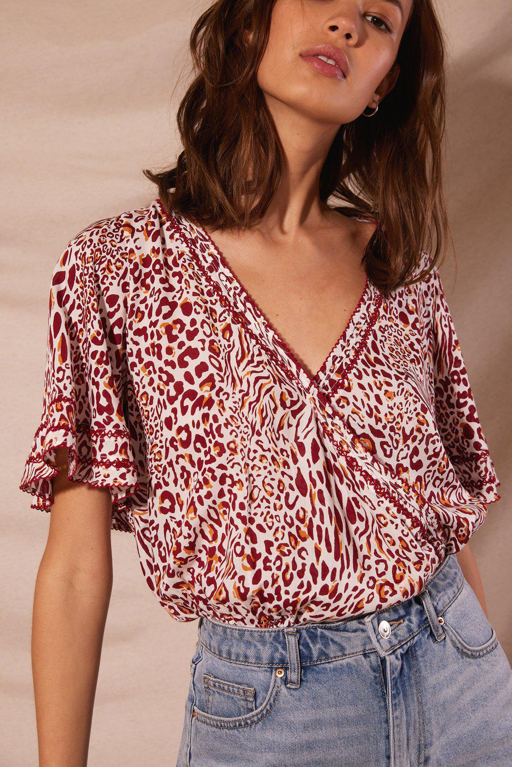 Blouse Becca Red Eze
